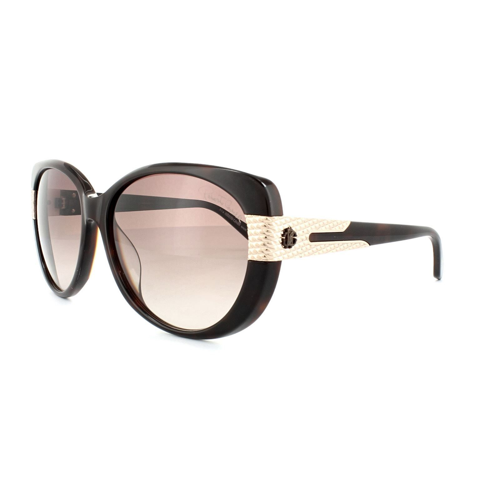 Roberto Cavalli Sunglasses Fesdu 745T 52F Black Grey Gradient