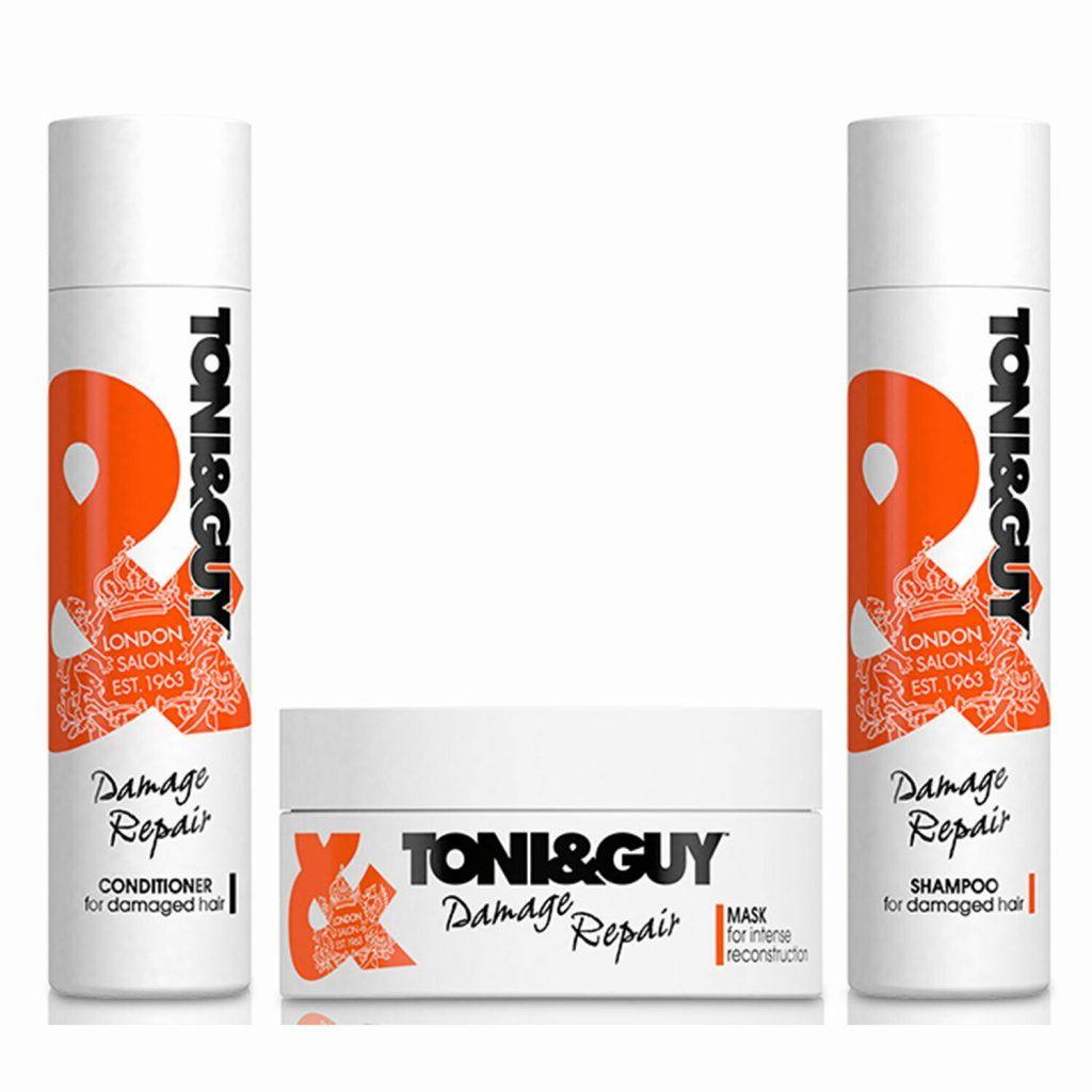 Toni & Guy Damage Repair Shampoo & Conditioner 250ml & Mask 300ml