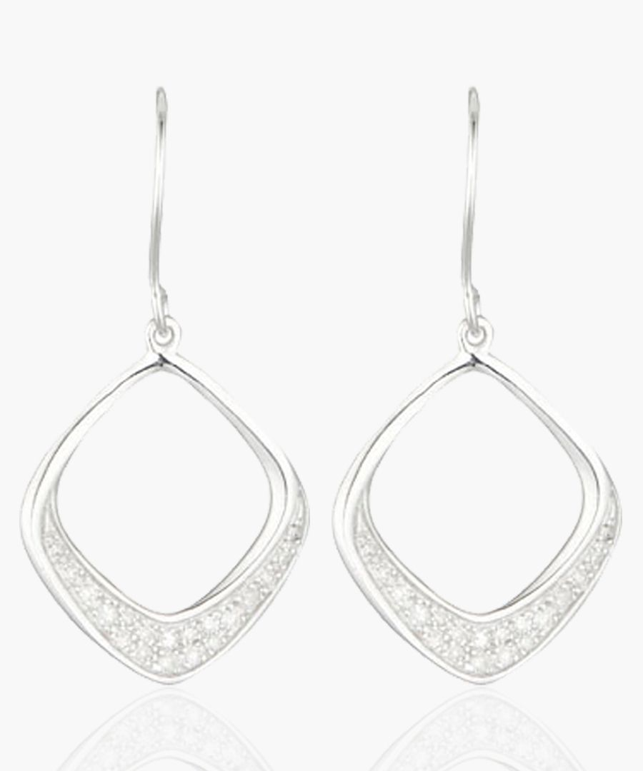 Baisha silver earrings