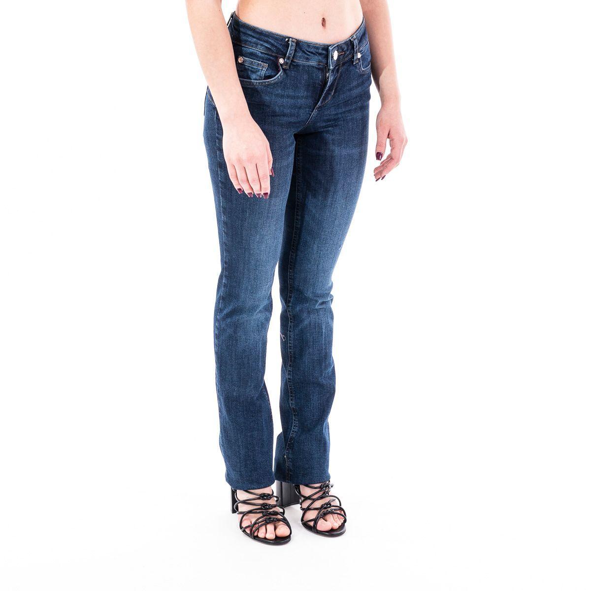 LIU JO WOMEN'S UA0025D412777411 BLUE COTTON JEANS