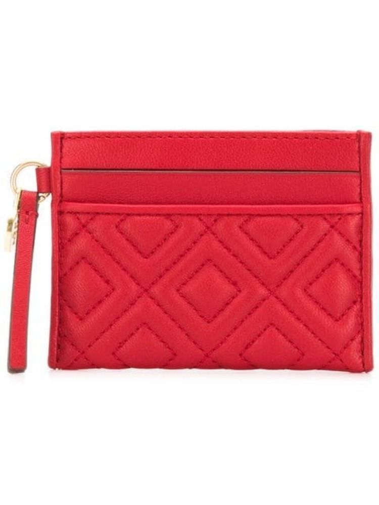 TORY BURCH WOMEN'S 46543612 RED LEATHER WALLET