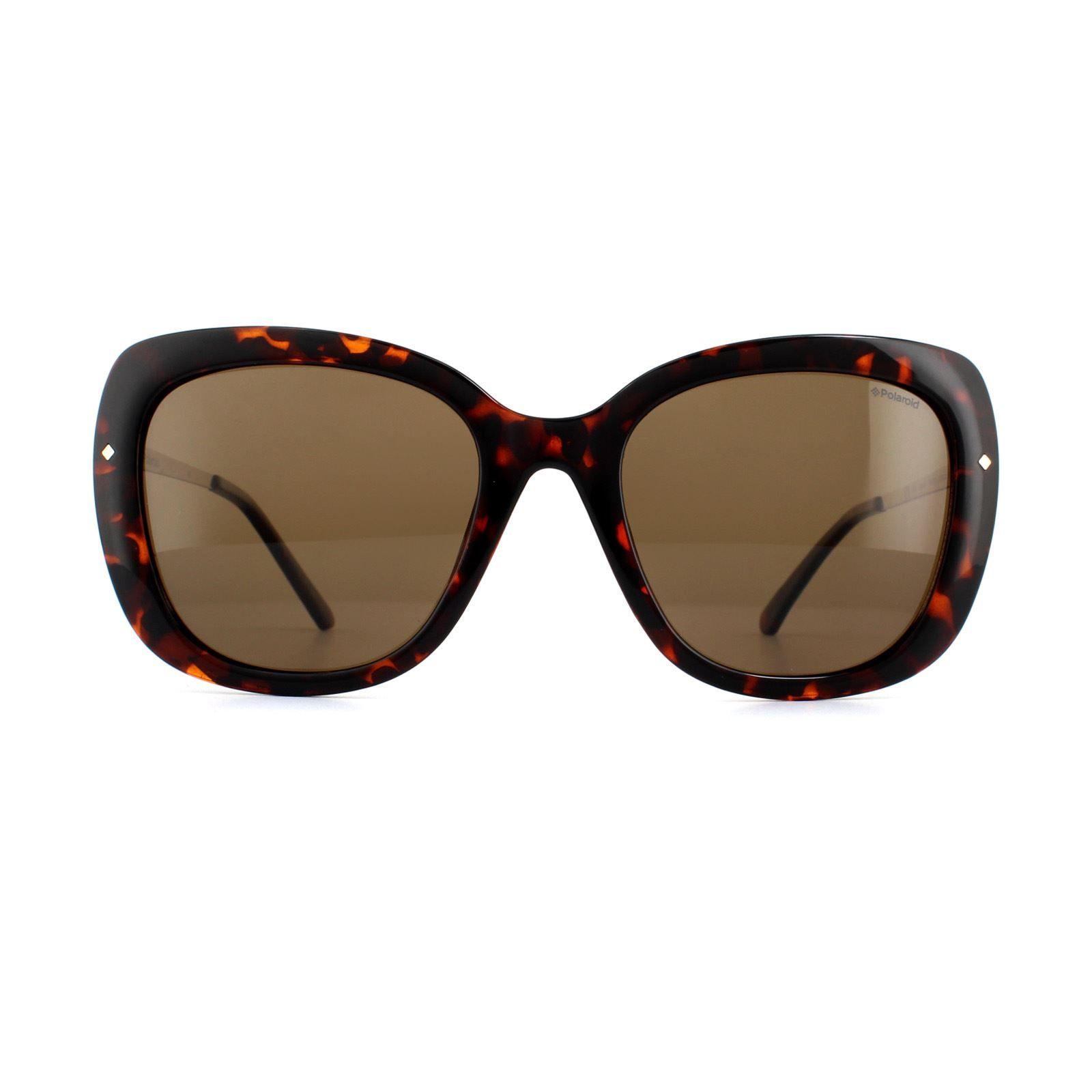 Polaroid Sunglasses PLD 4044/S NHO IG Havana Gold Brown Polarized