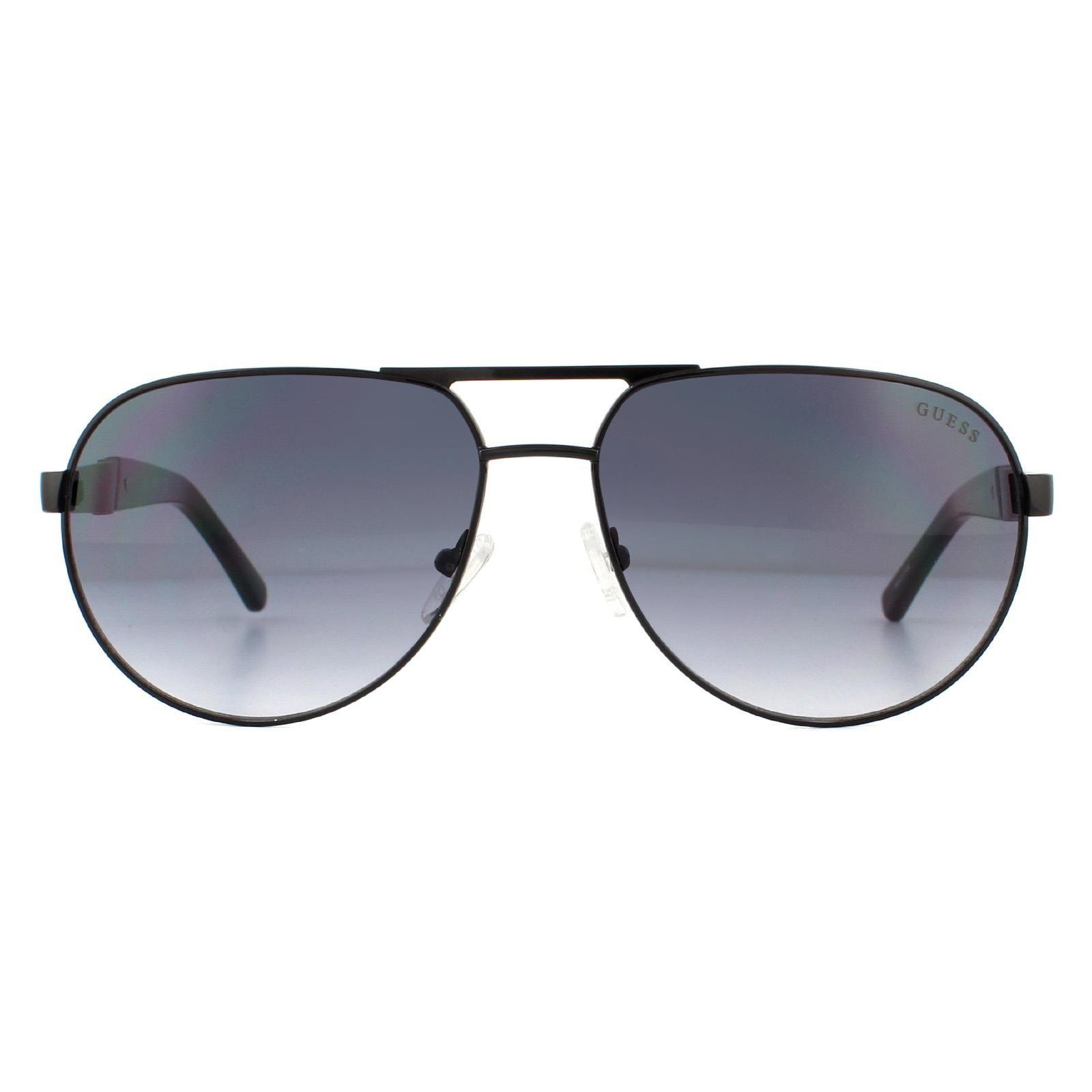 Guess Sunglasses GF5031 01B Black Grey Gradient