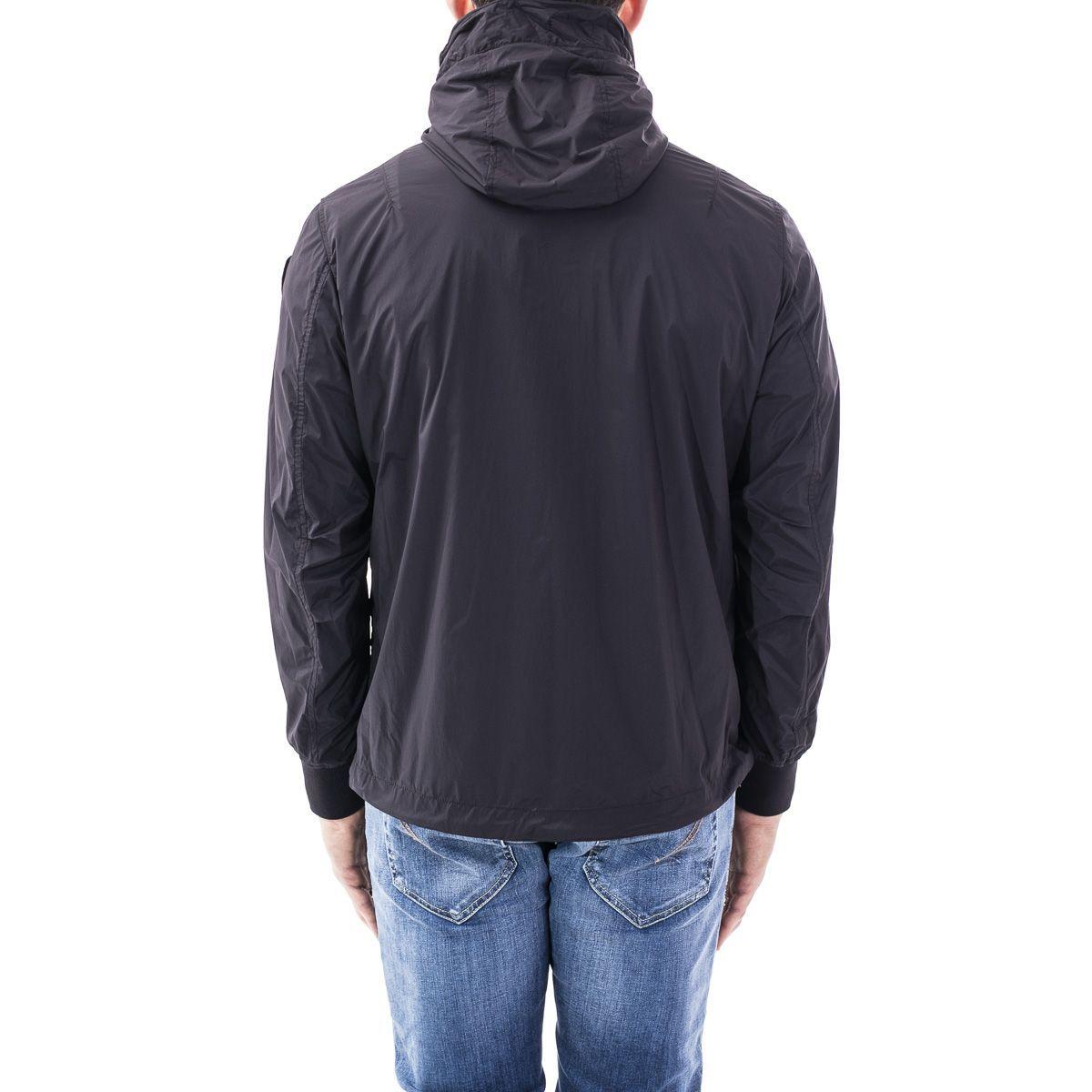 BLAUER MEN'S 20SBLUC04046005250999 BLACK POLYAMIDE OUTERWEAR JACKET