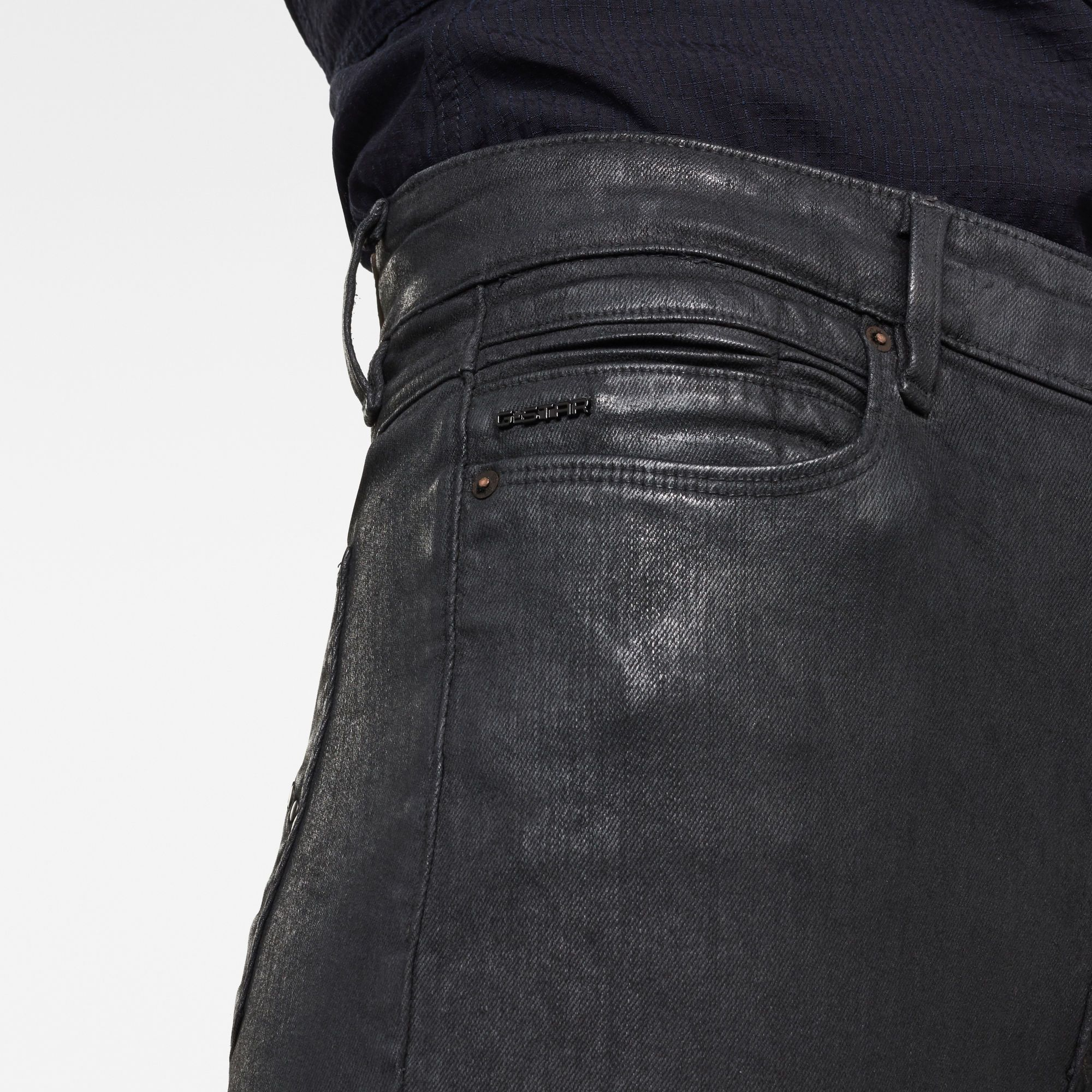G-Star RAW G-Star Shape Studs High Super Skinny Jeans