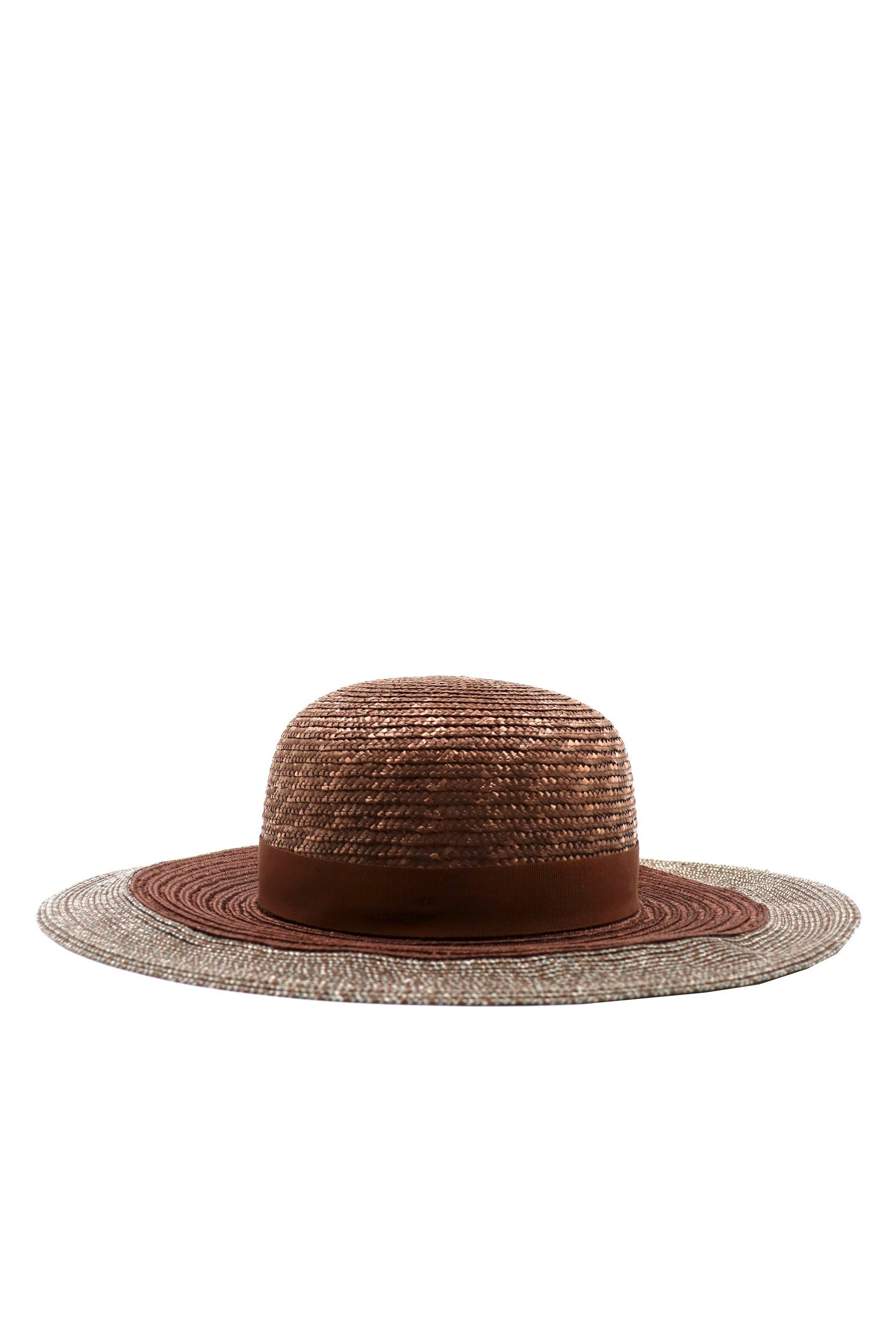 ELEVENTY WOMEN'S A80CPLA01TES0A15105 BROWN OTHER MATERIALS HAT