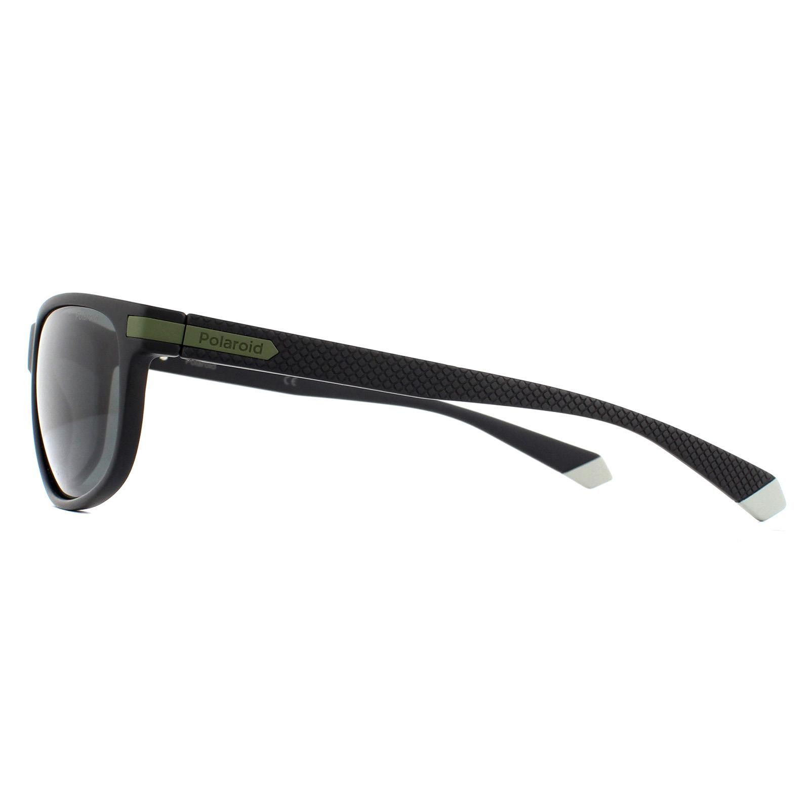Polaroid Sunglasses PLD 2099/S 7ZJ M9 Black Green Grey Polarized