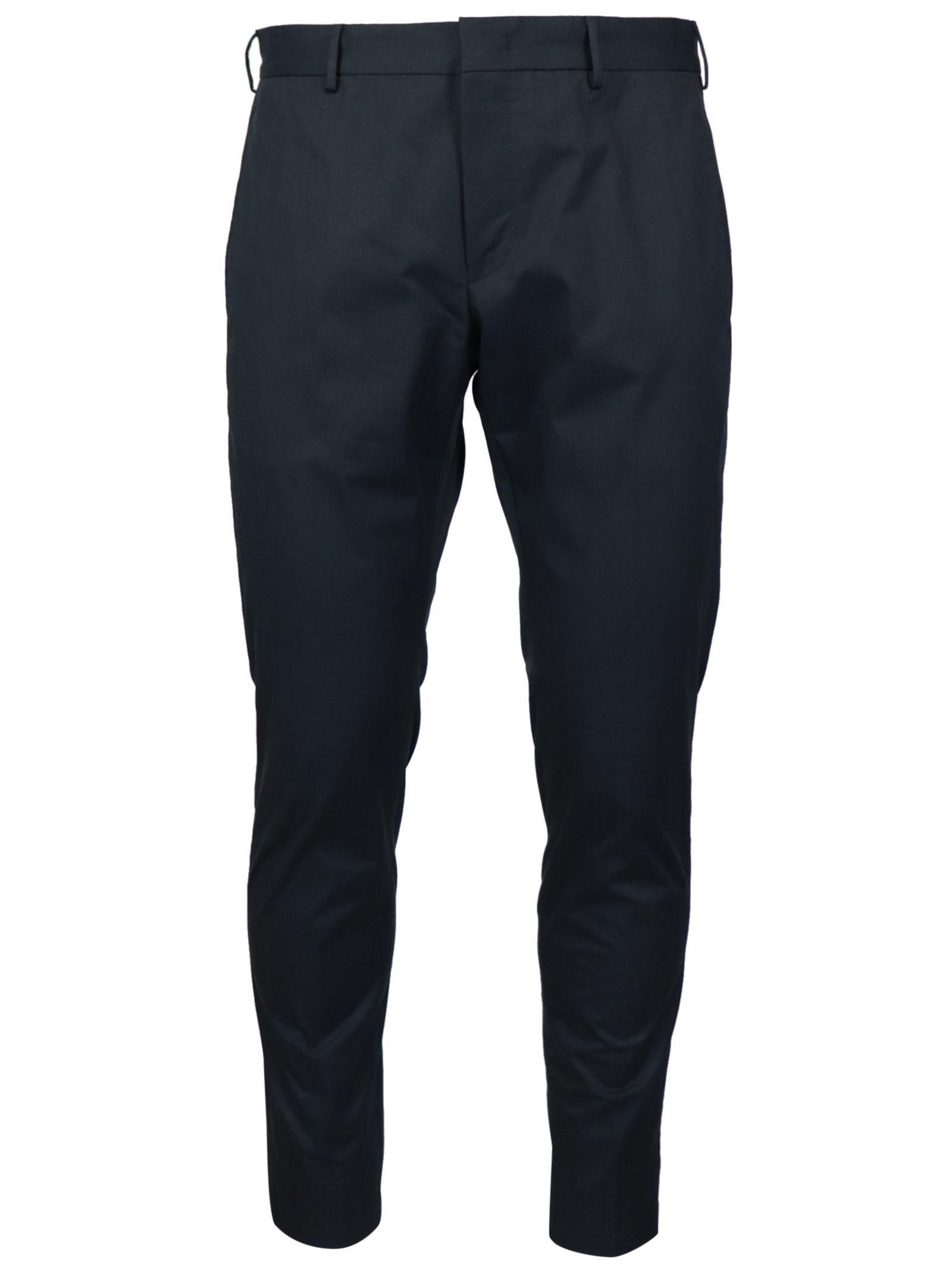 PT01 MEN'S COASEPZE0KLTMP45360 BLUE COTTON PANTS