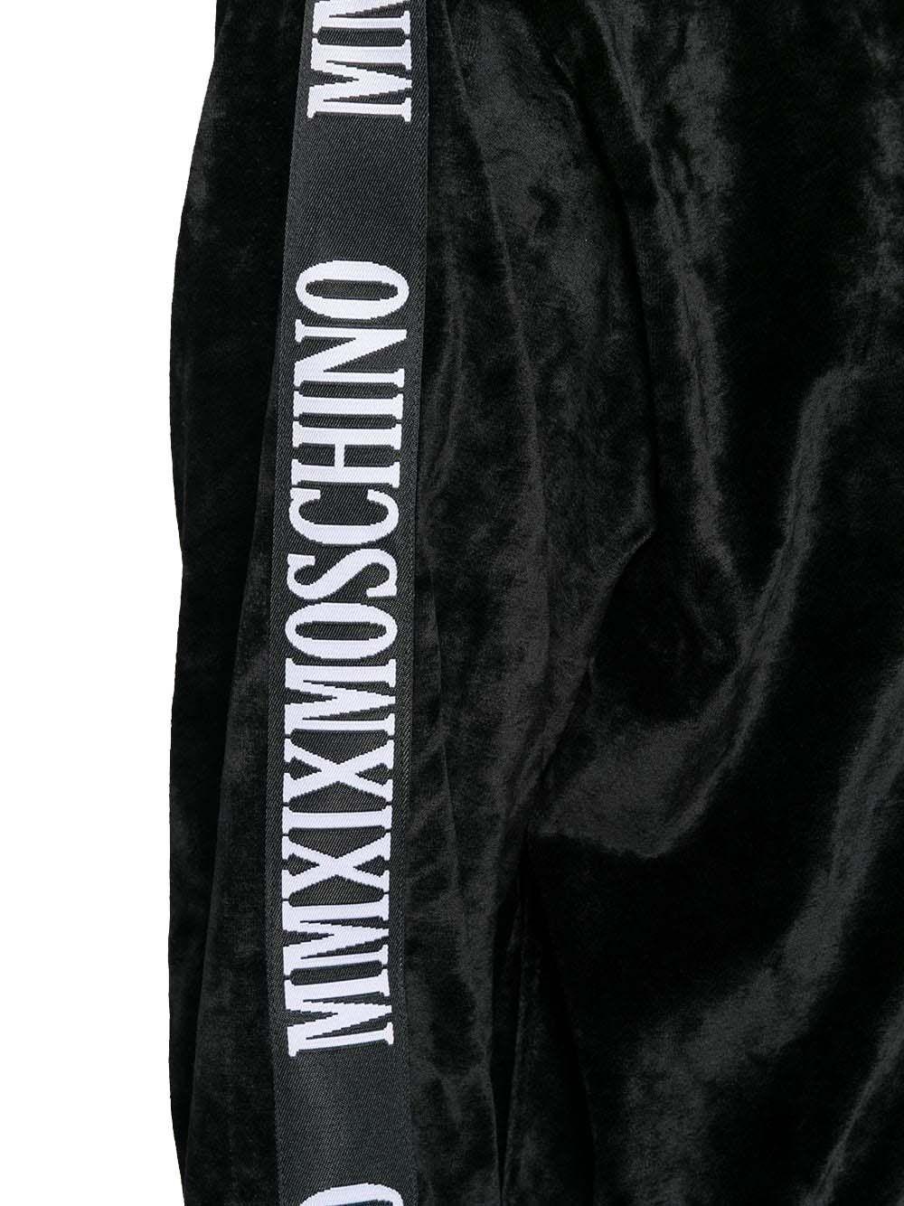 MOSCHINO WOMEN'S A171255291555 BLACK VISCOSE SWEATSHIRT