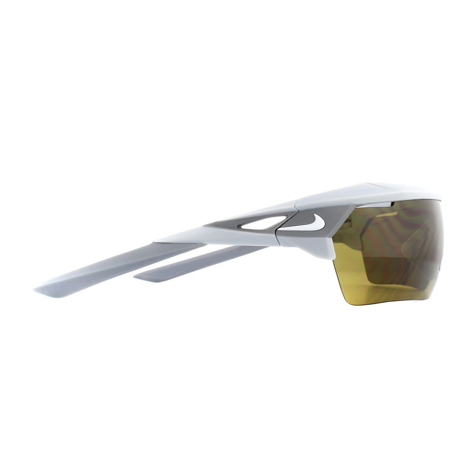 Nike Sunglasses Hyperforce Elite E EV1067 013 Matt Grey Terrain Tint & Grey Silver Mirror