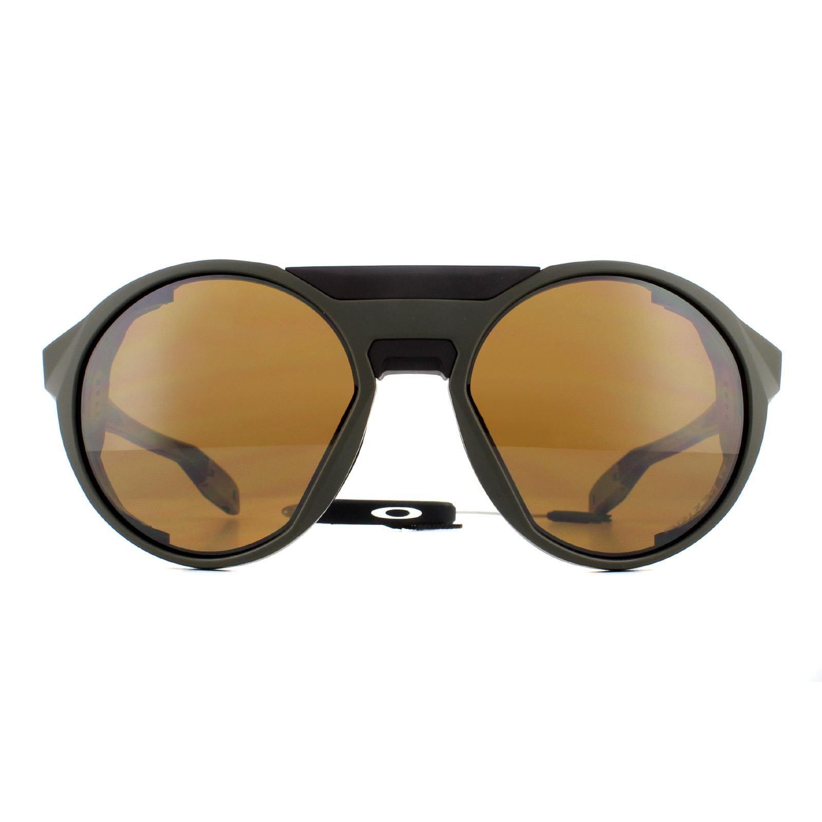 Oakley Sunglasses Clifden OO9440-04 Matte Olive Prizm Tungsten Polarized