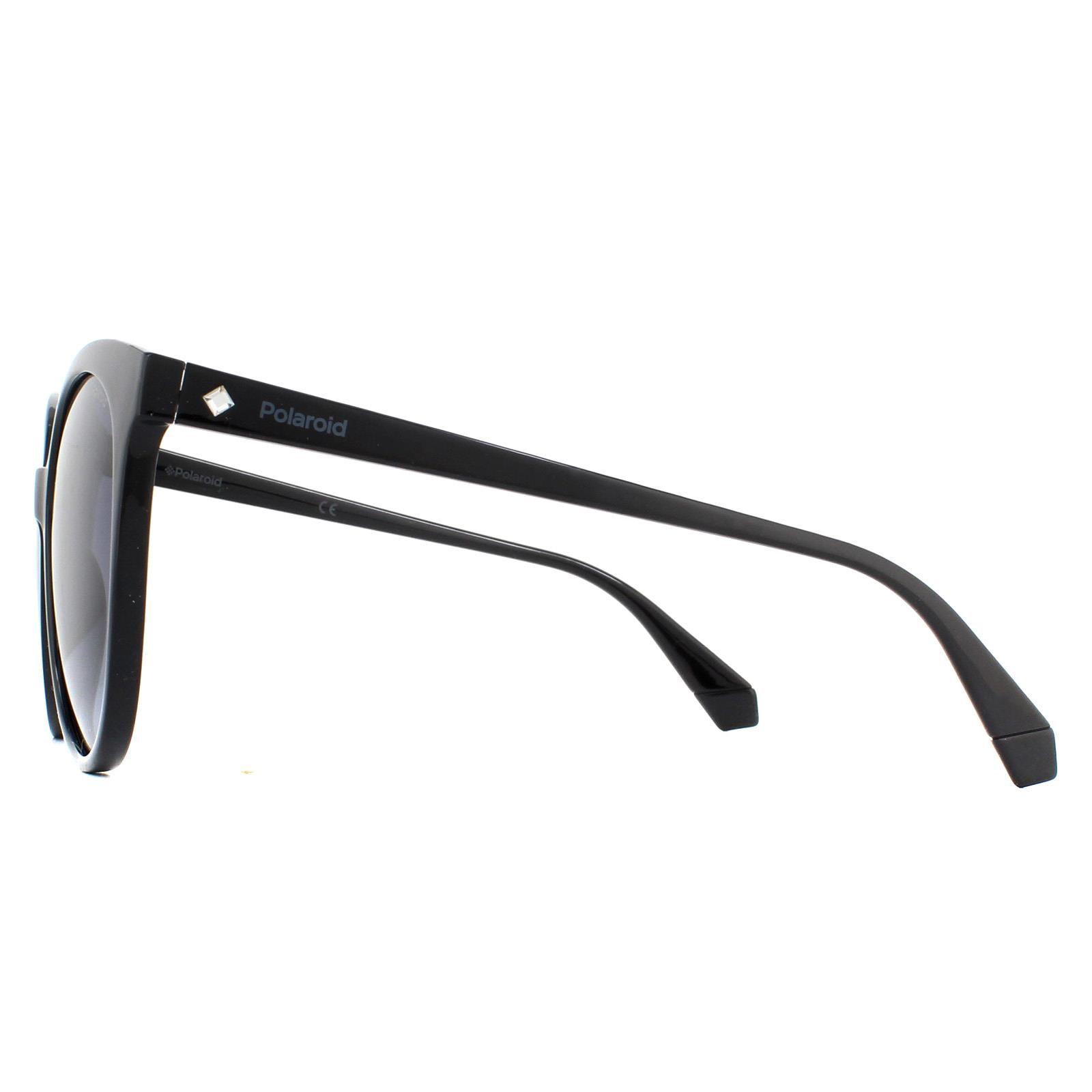 Polaroid Sunglasses PLD 4086/S 807/WJ Black Grey Gradient Polarized