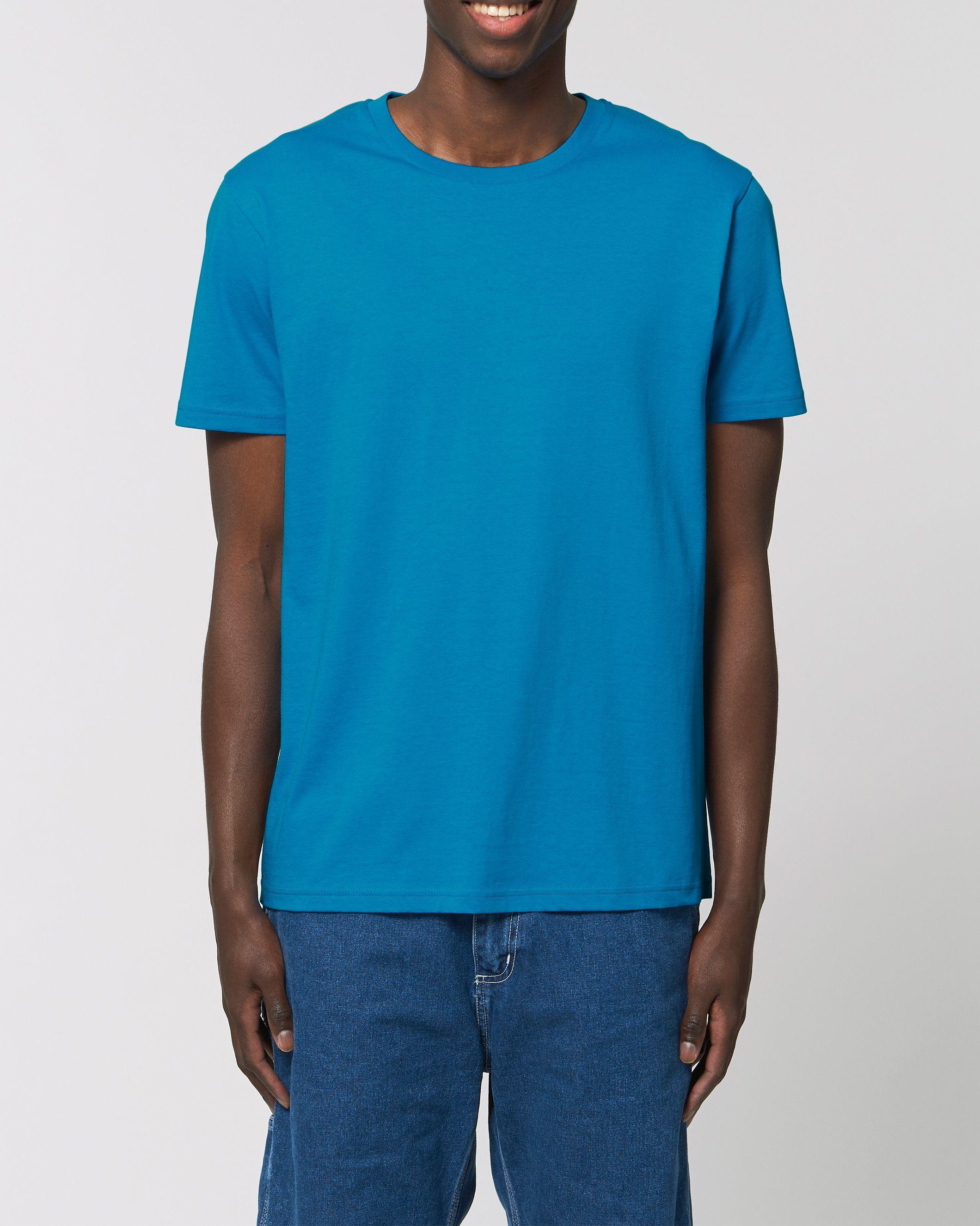 Manas Unisex Regular Fit Tee in Blue