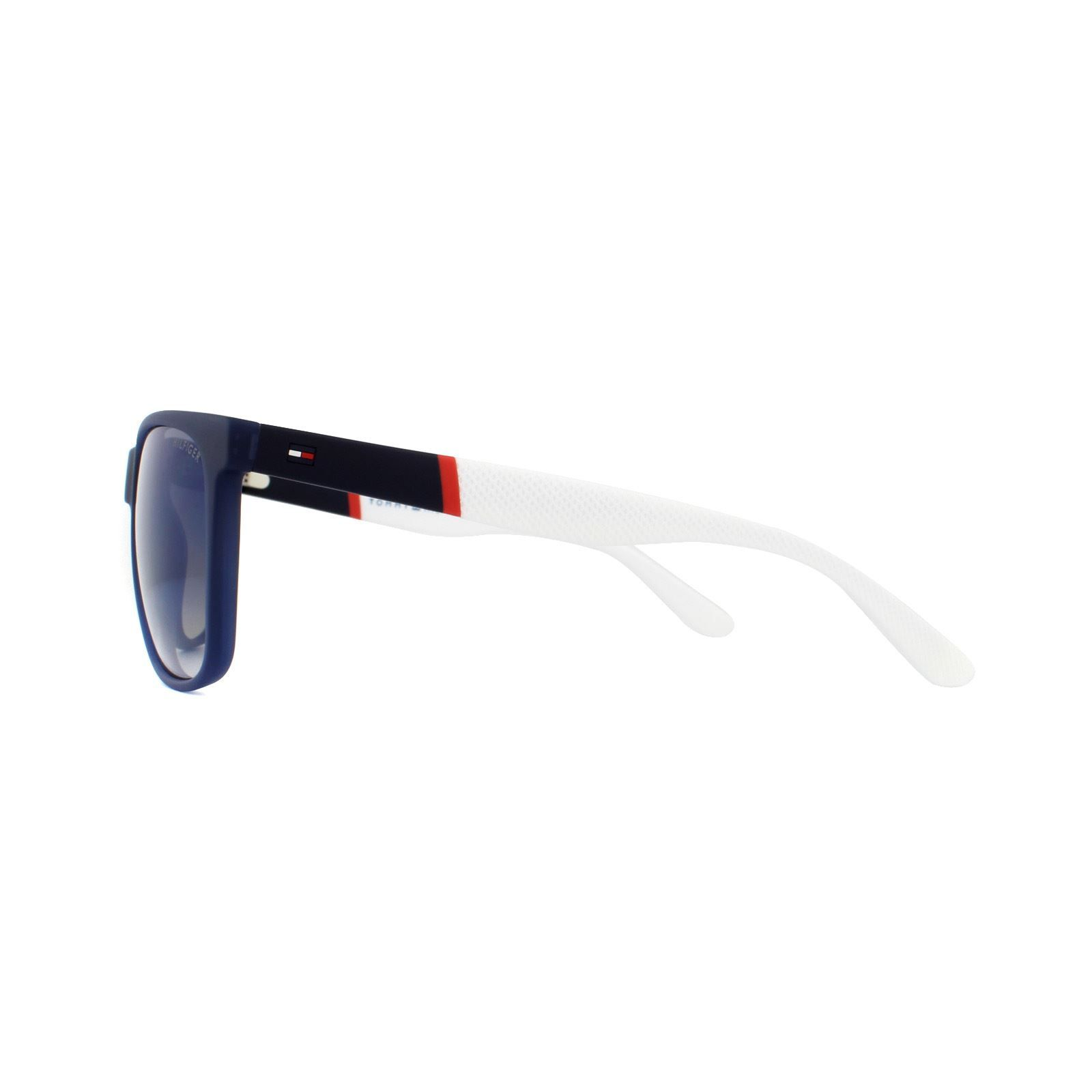 Tommy Hilfiger Sunglasses TH 1281/S FMC DK Blue Red White Blue Sky Flash