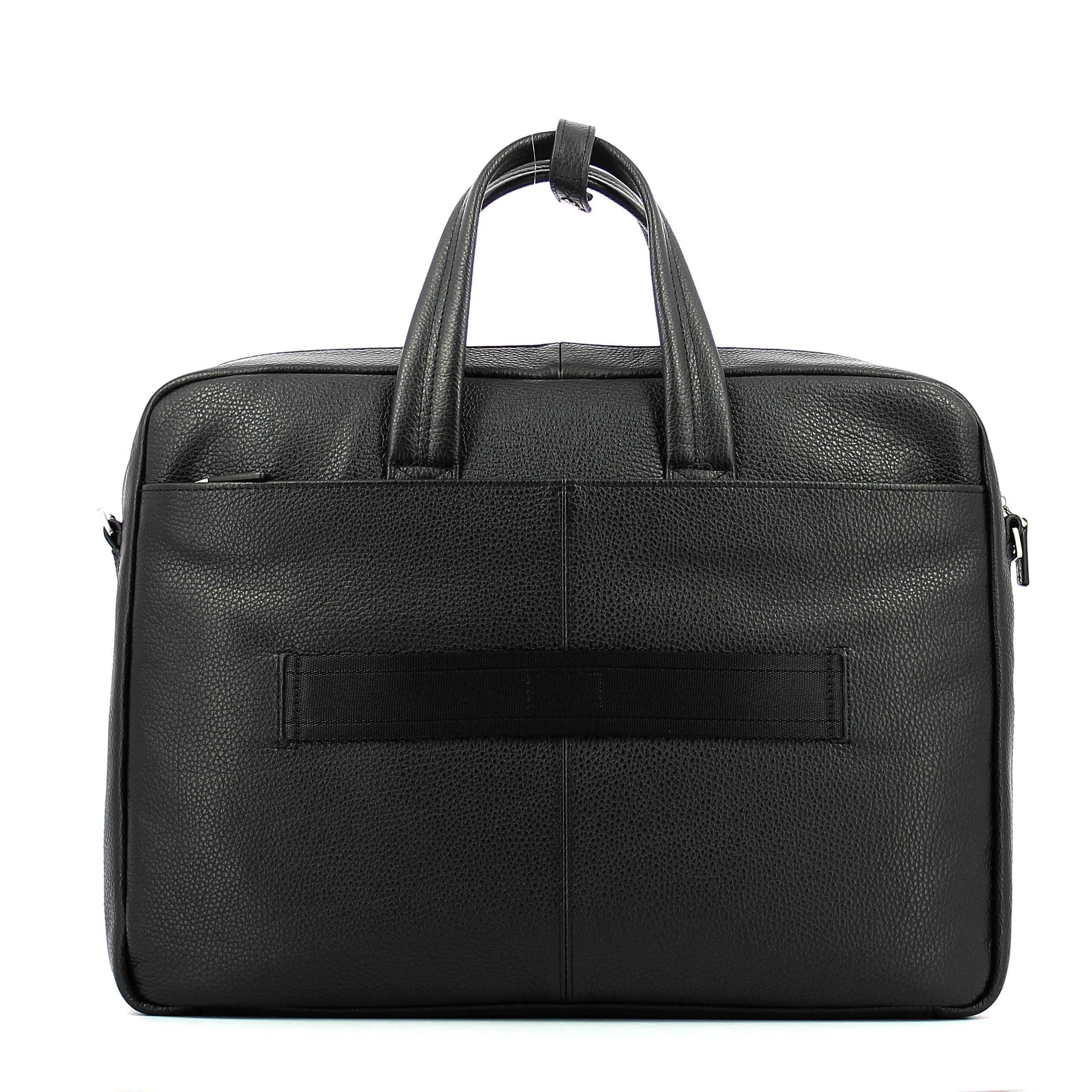 Double handle laptop briefcase Vibe 15.6 Piquadro NERO