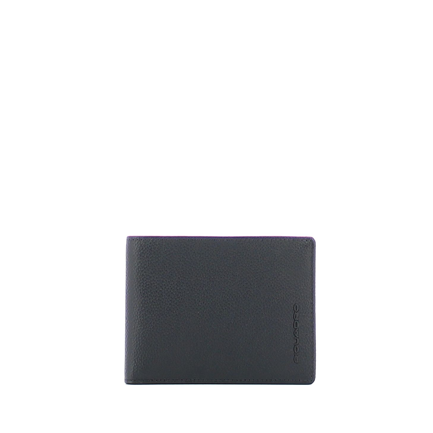 Men Wallet with Credit Card Holder Piquadro BLU/MARRONE