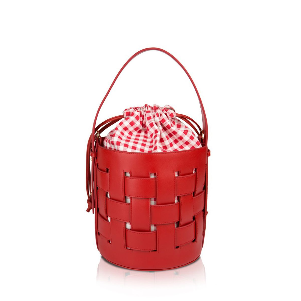 Bucket bag Andrea Pomikaki RED