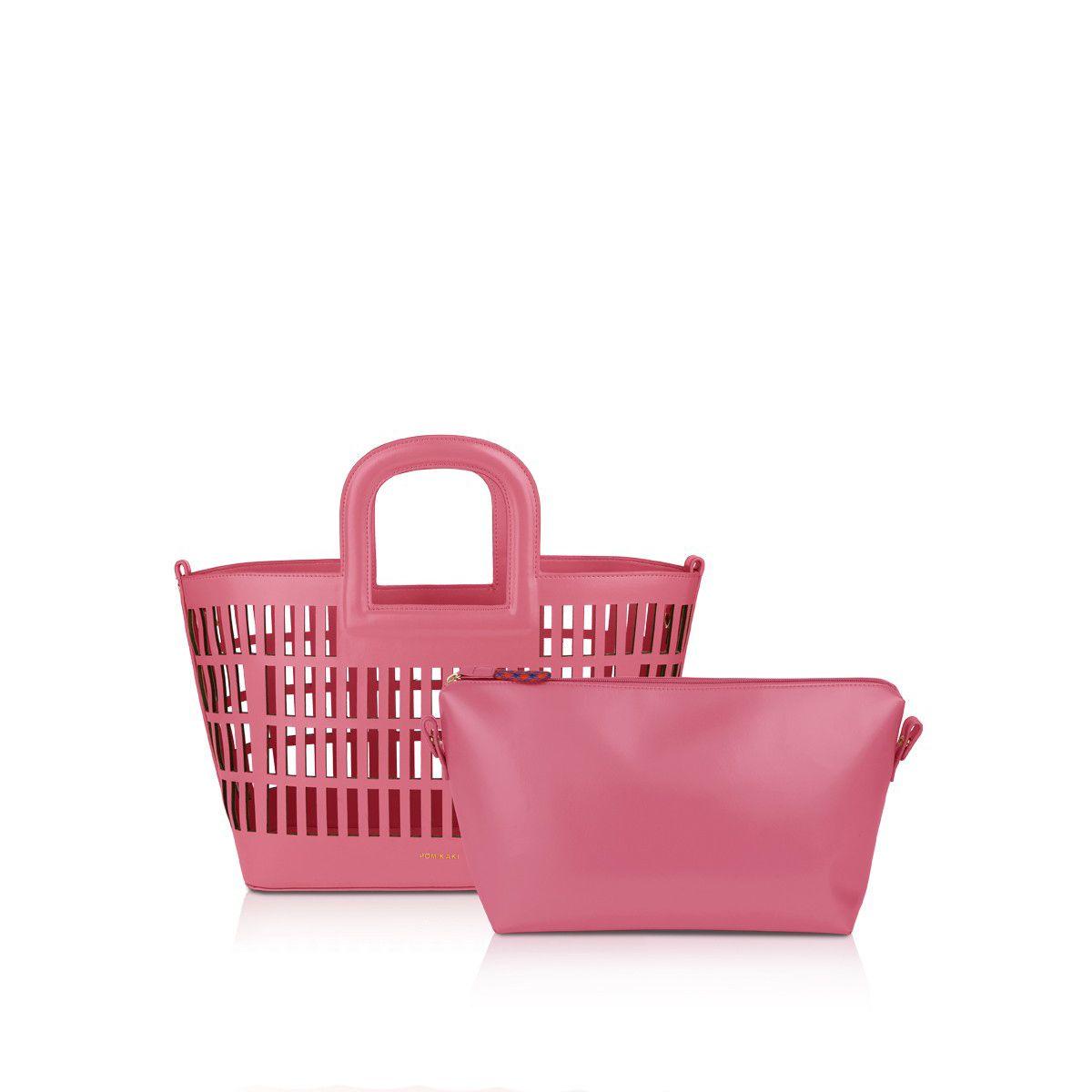 Shopper Kirigami Pomikaki DARK PINK