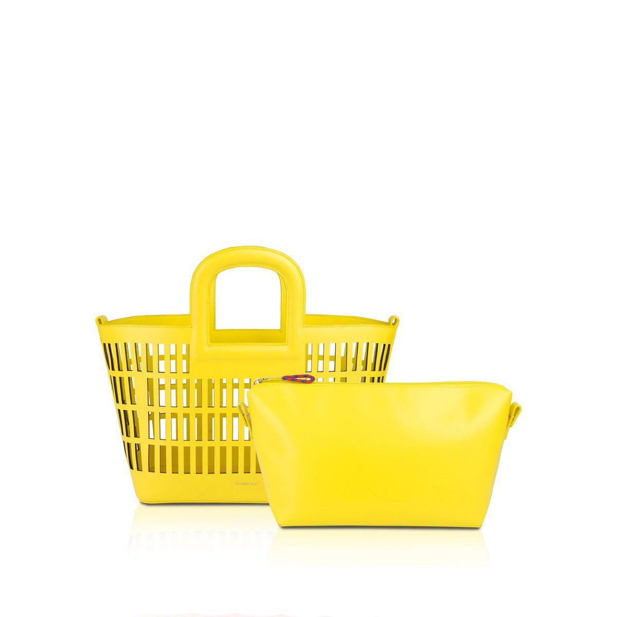 Shopper Kirigami Pomikaki YELLOW