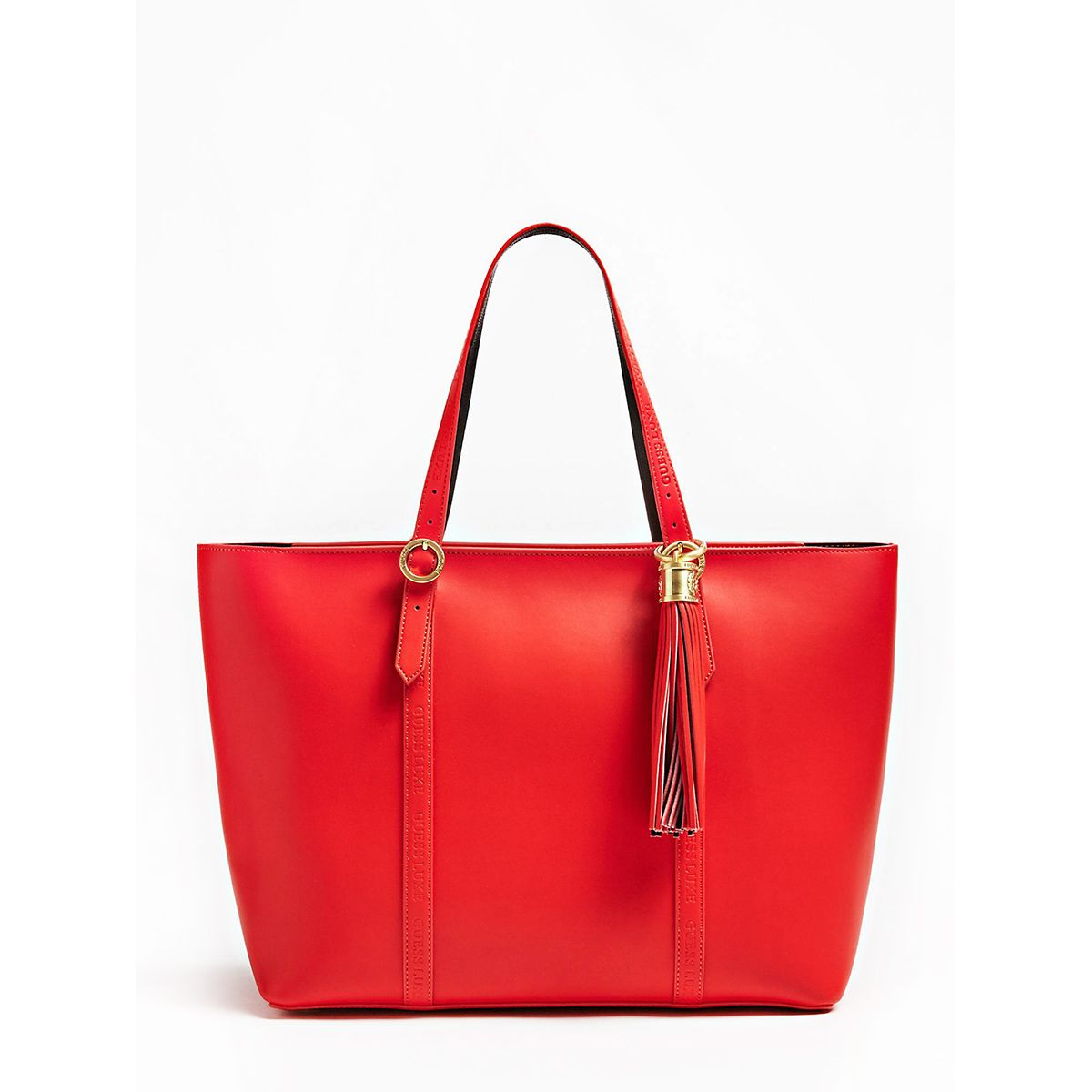 Leather Shopper Sophie Guess Luxe LIPSTICK