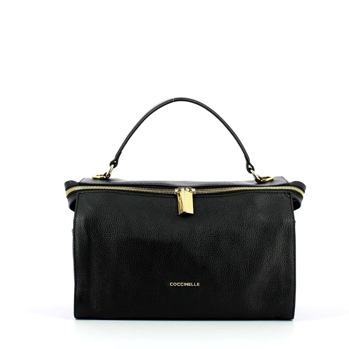 Atsuko Medium Handbag Coccinelle NOIR