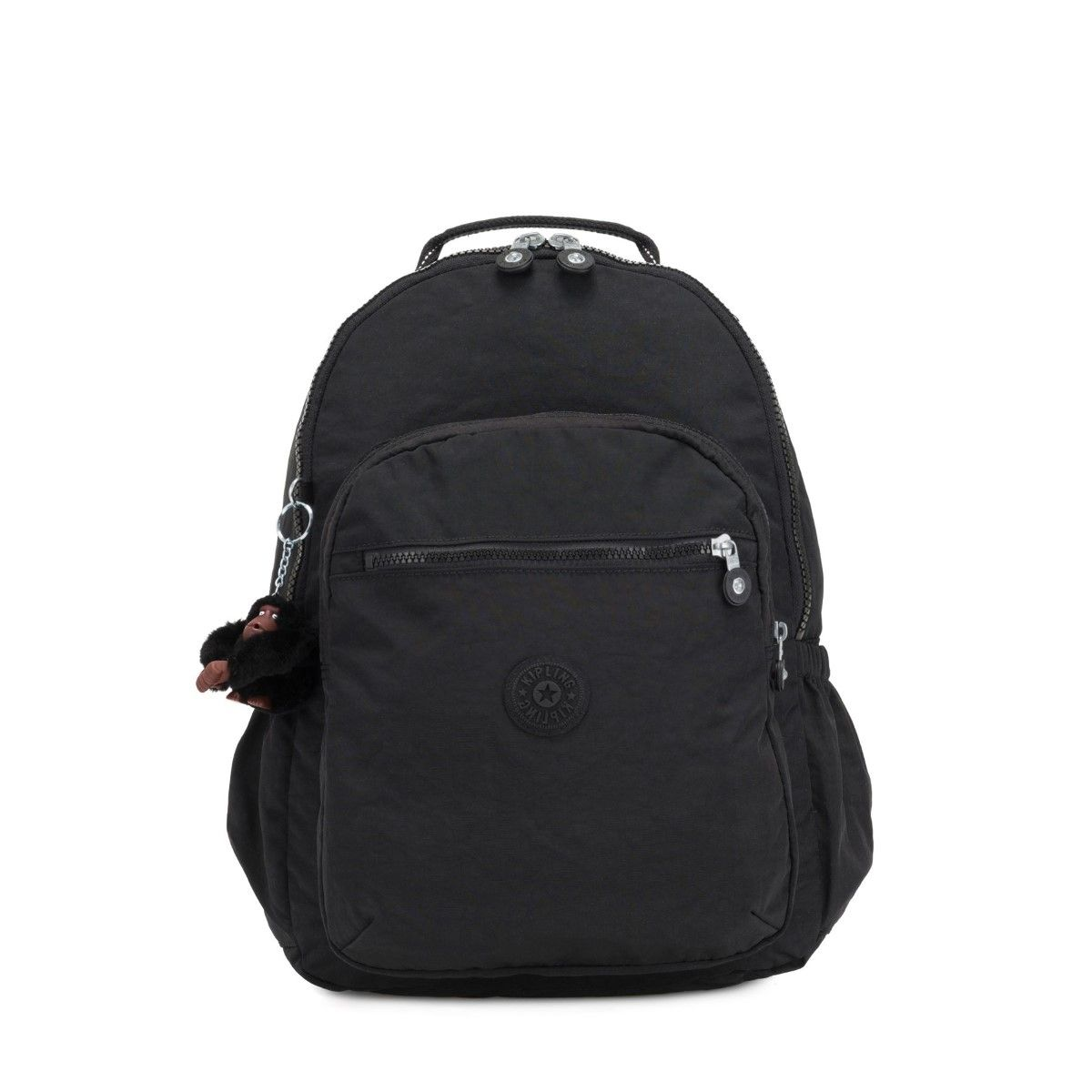 Seoul Go 15.0 Large Backpack with Laptop Protection Kipling TRUE BLACK