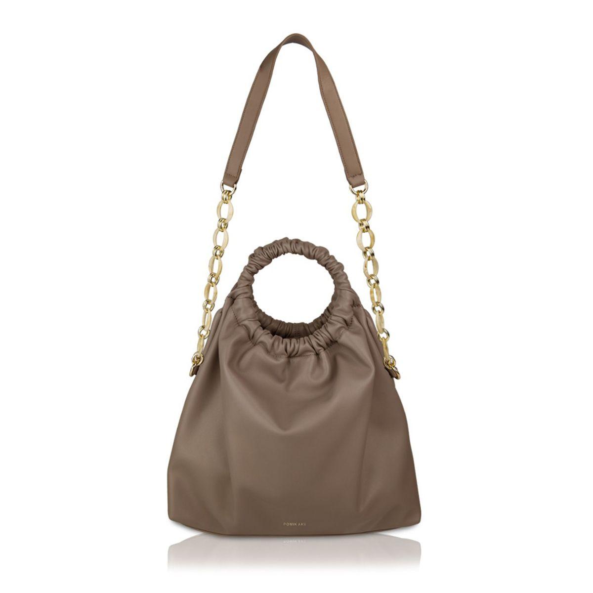 Handbag Annie Pomikaki BEIGE