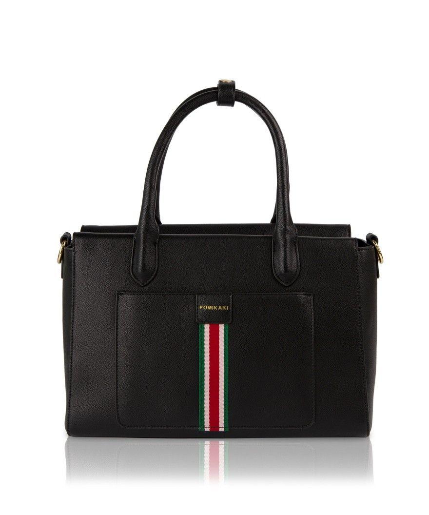 Handbag Sixty Pomikaki BLACK
