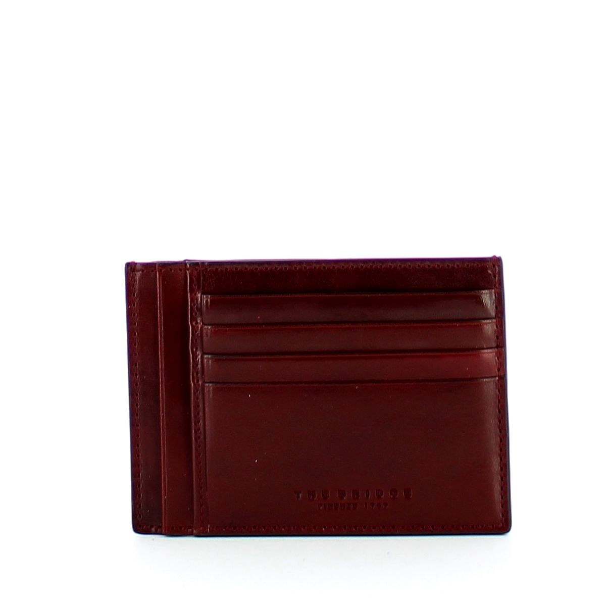 Capalbio slim credit card holder The Bridge BORDEAUX ABB. O