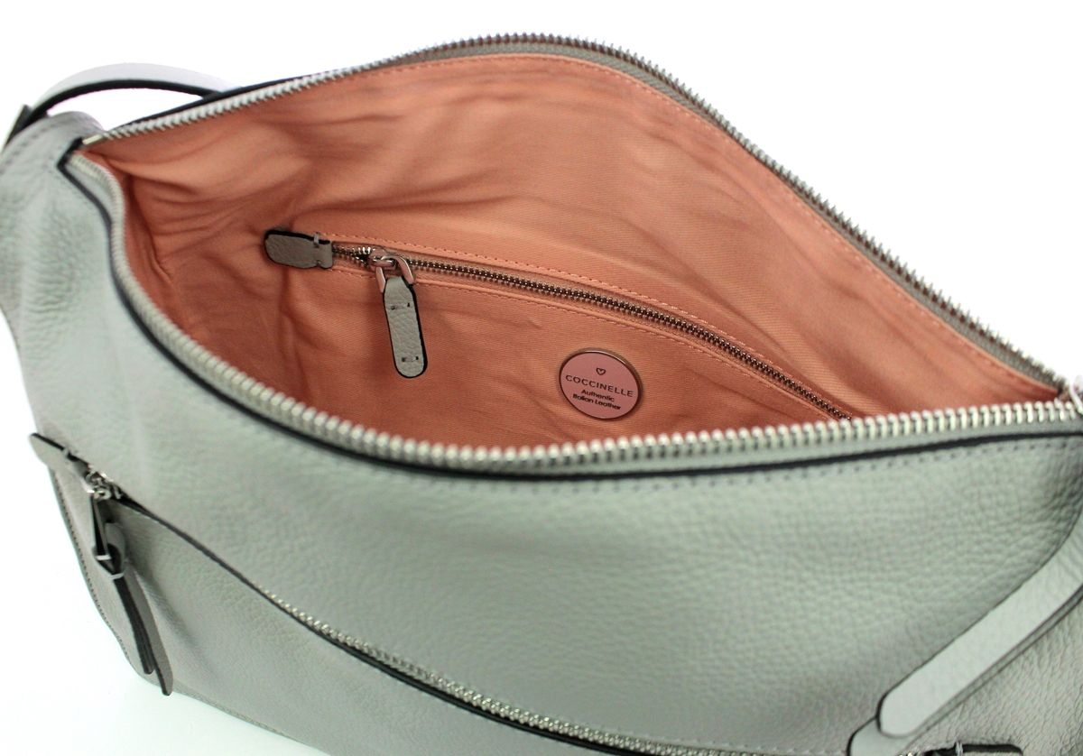 Twiga Shoulderbag in genuine leather Coccinelle DOLPHIN