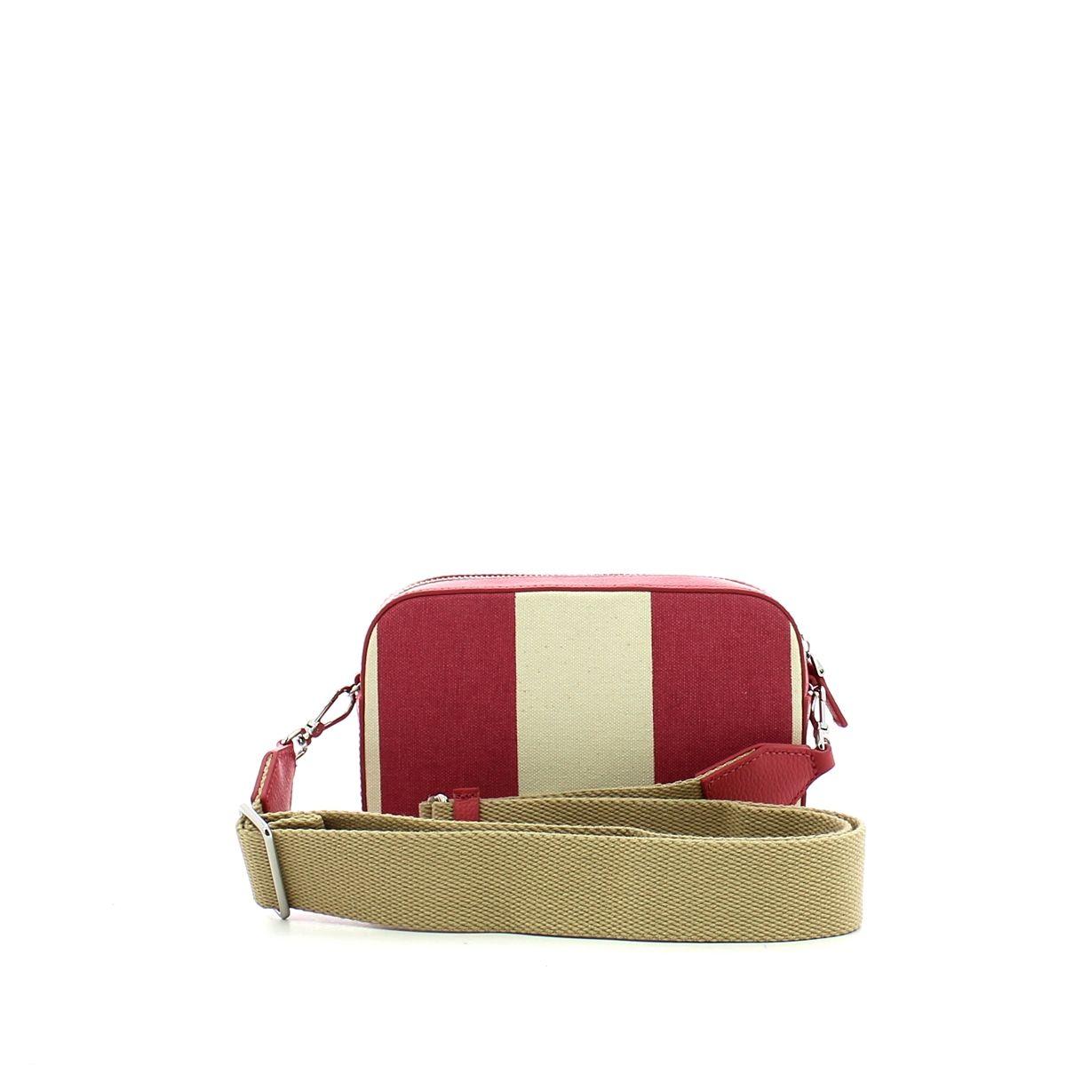 Tebe Crossbody Bag Stripes Canvas Coccinelle BOUGANV/BOUGANV