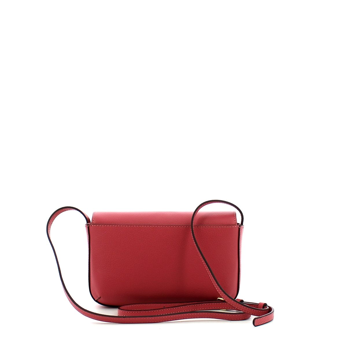 Minibag Annetta in Tumbled Leather Coccinelle BOUGANVILLE
