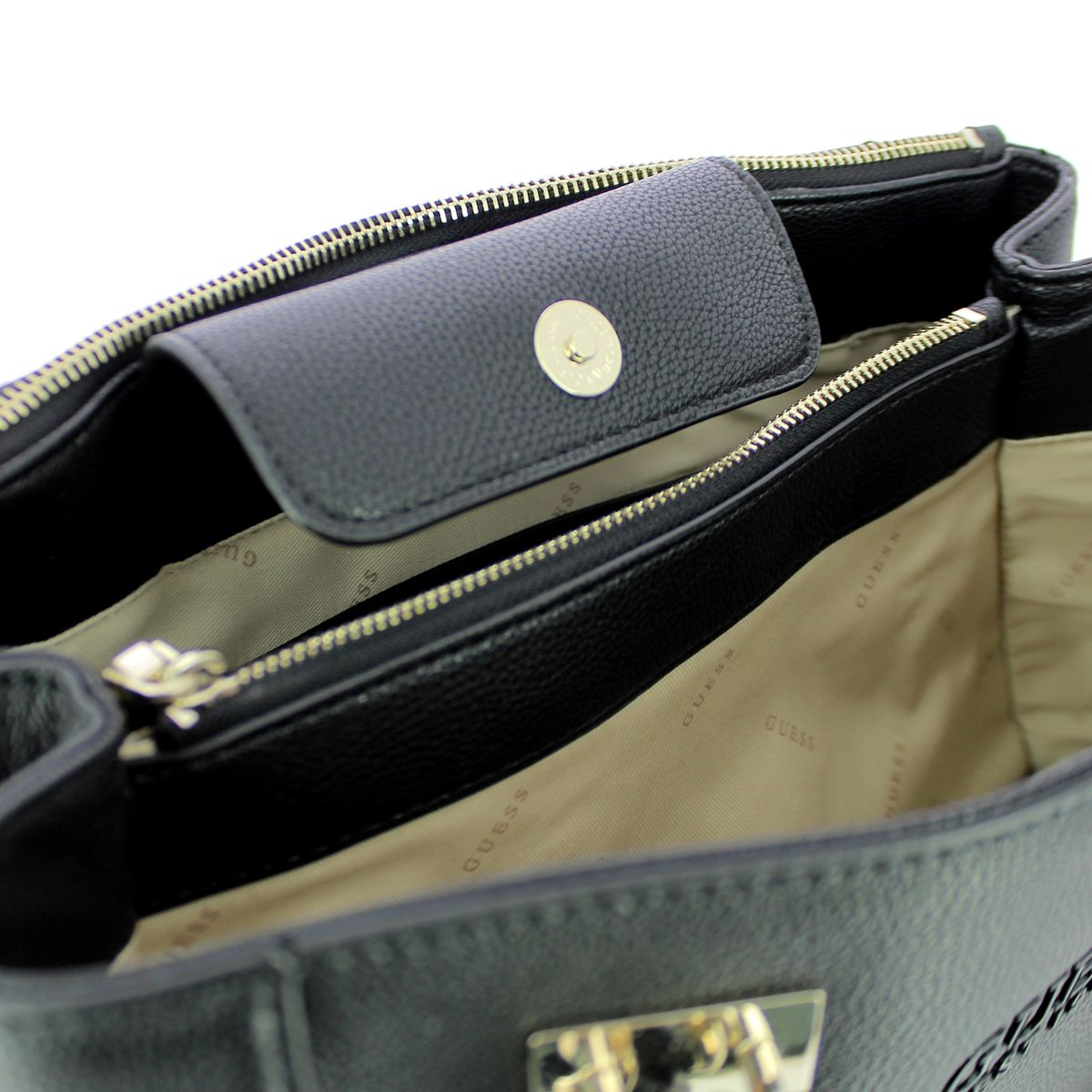 Holly Society Luxe Carryall Guess BLACK