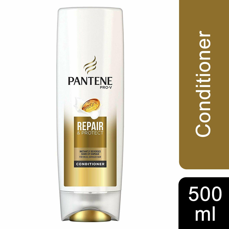 Pantene Repair & Protect Shampoo 2 x 500ml & Conditioner 2 x 500ml