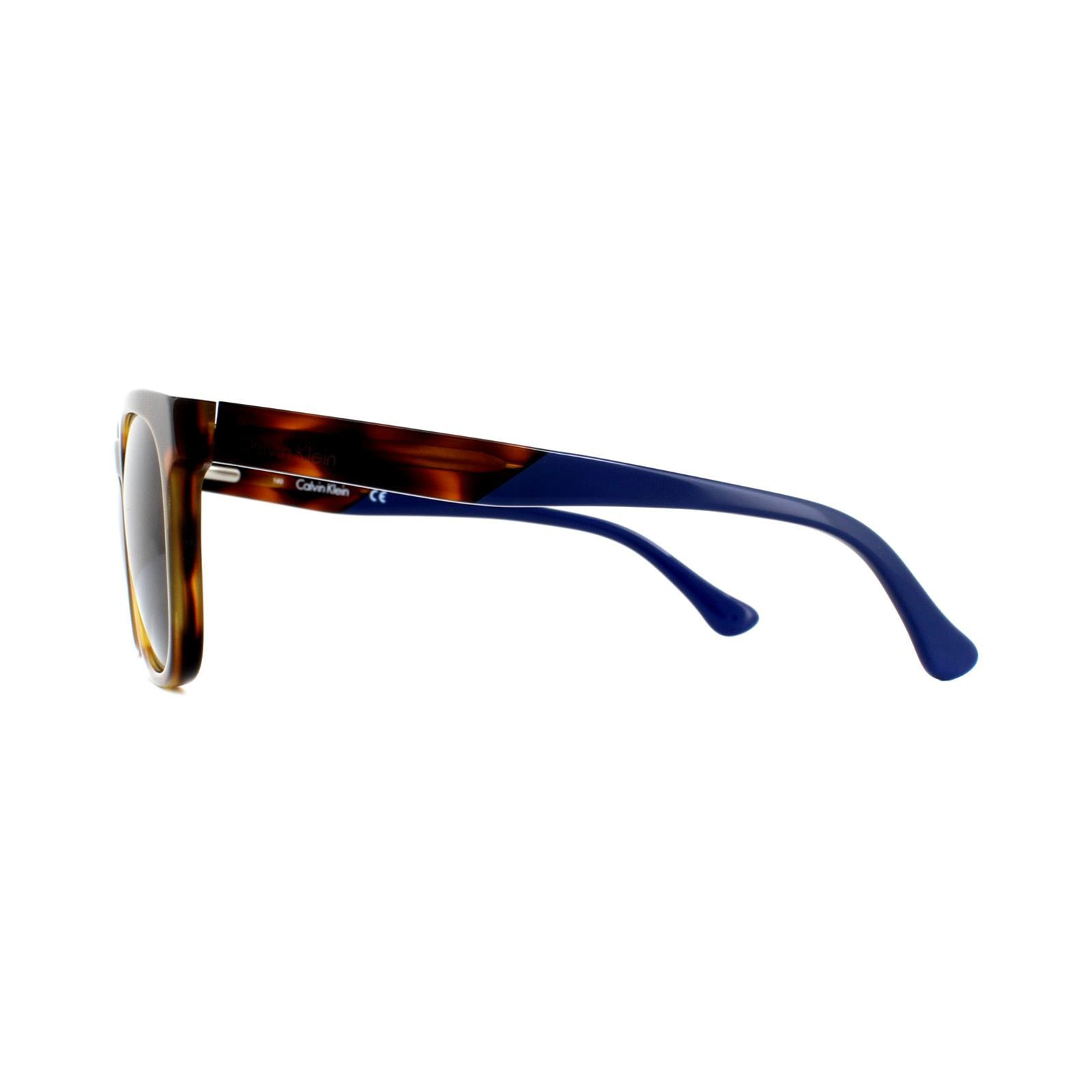 Calvin Klein Sunglasses CK5942S 211 Light Havana Blue Green