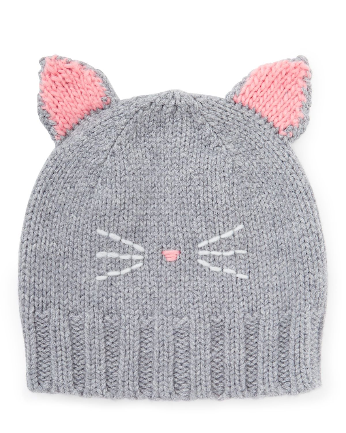 Cat Knitted Hat