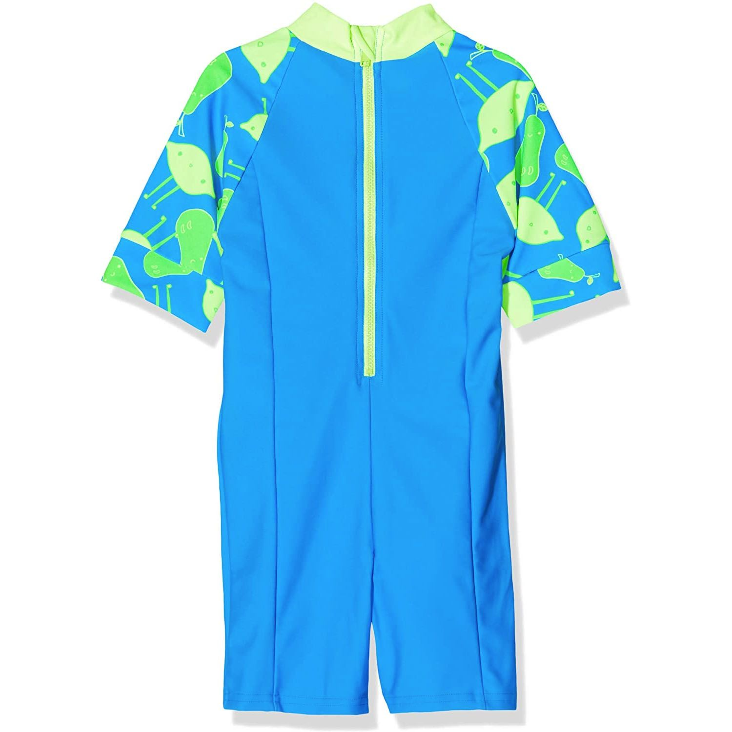 Speedo All In One Infant Swimsuit Blue/Green - 2 Years