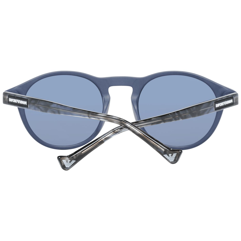 Emporio Armani Blue Men Sunglasses