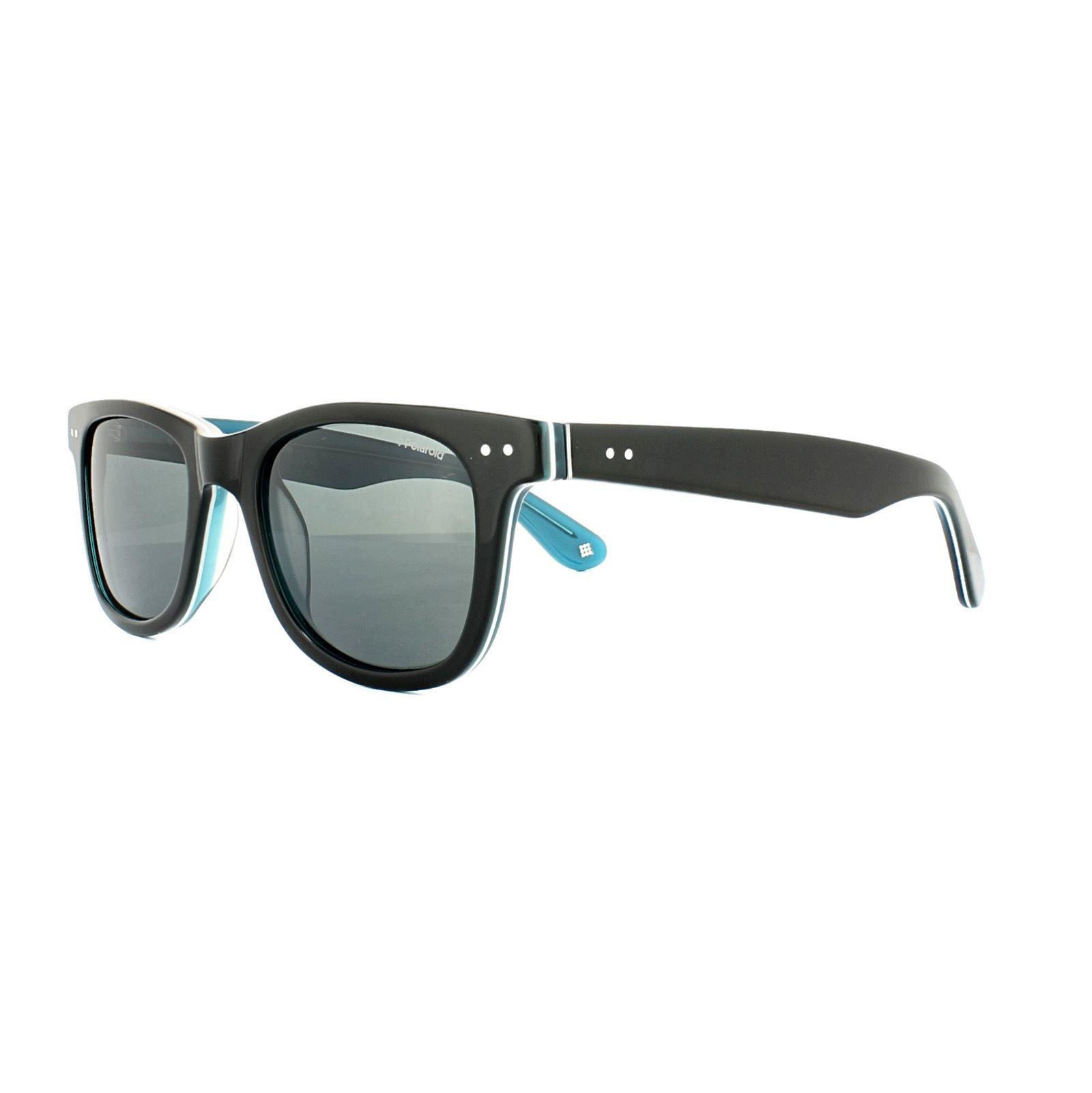 Polaroid Sunglasses X8400 D51 1T Black Blue Grey Polarized AR