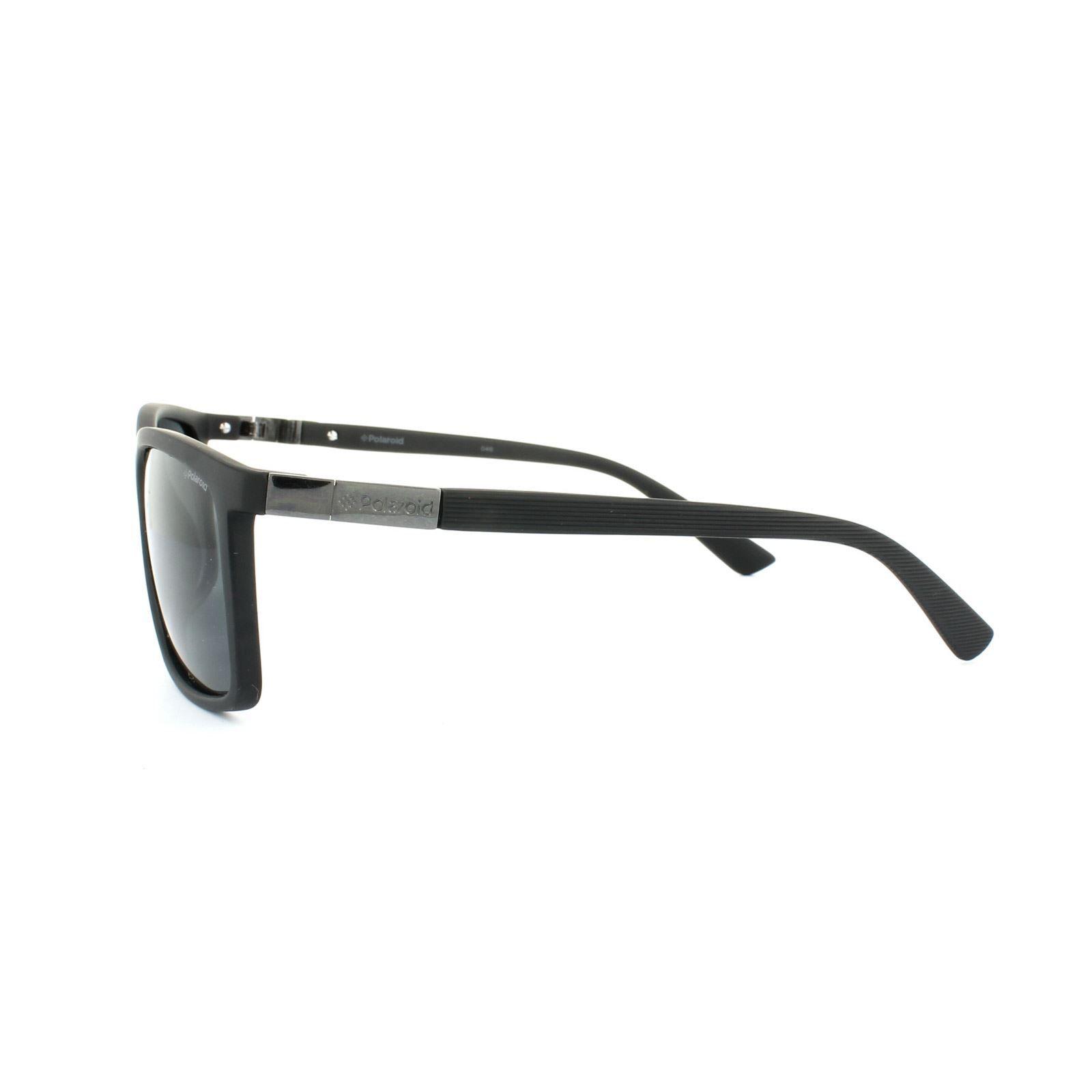 Polaroid Sunglasses P8346 KIH Y2 Black Grey Polarized