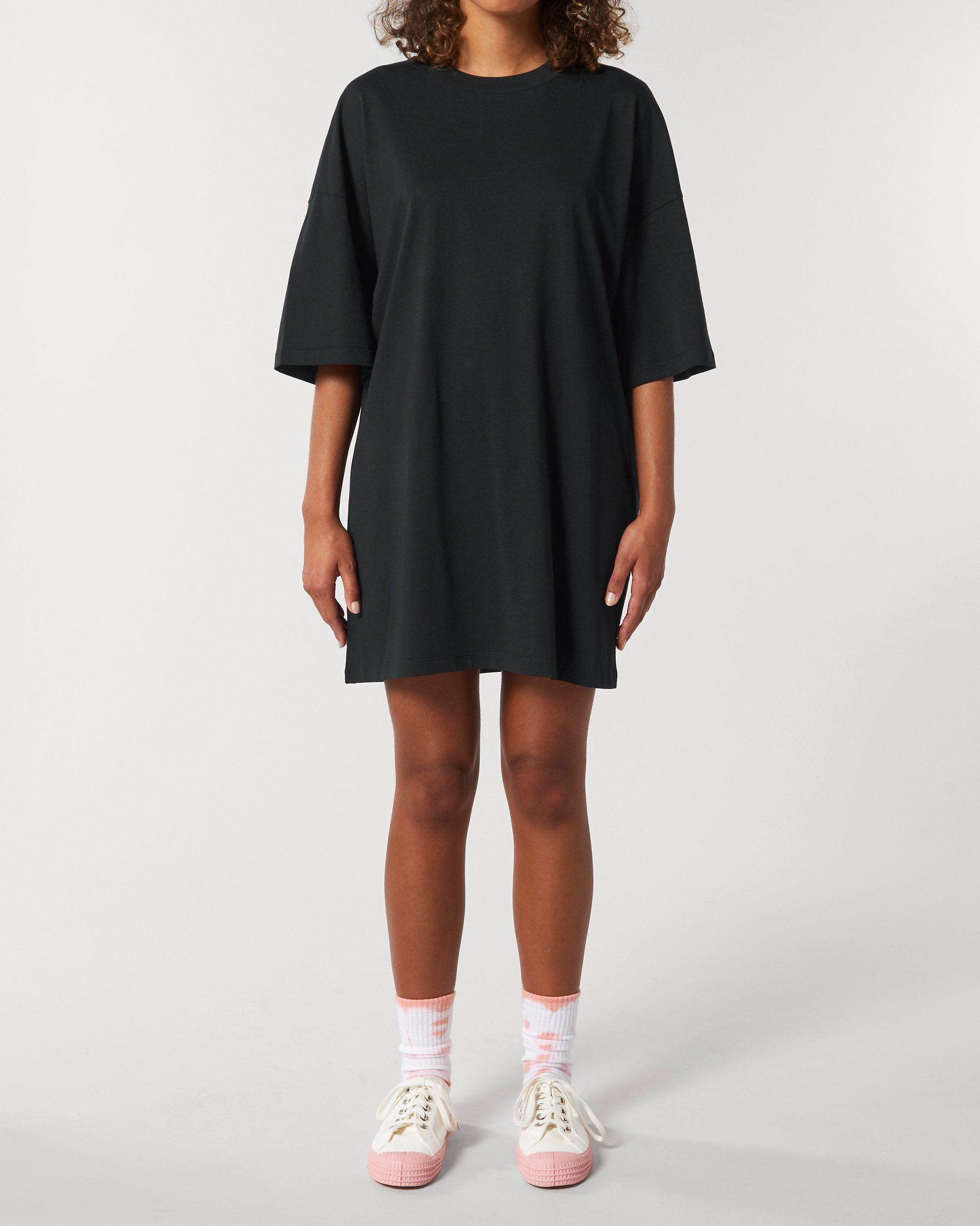 Tandra Women's Oversized Jersey Dress in Black