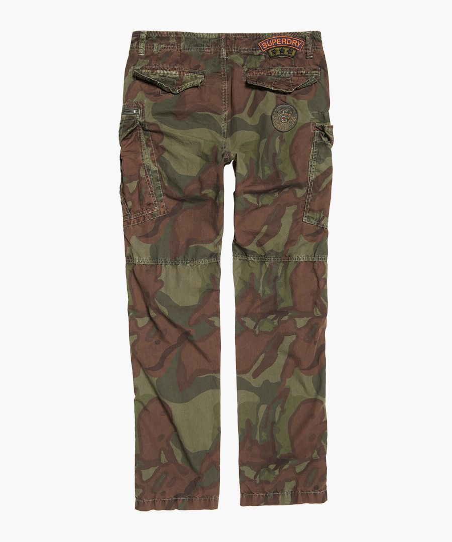 Ripstop Parachute green trousers