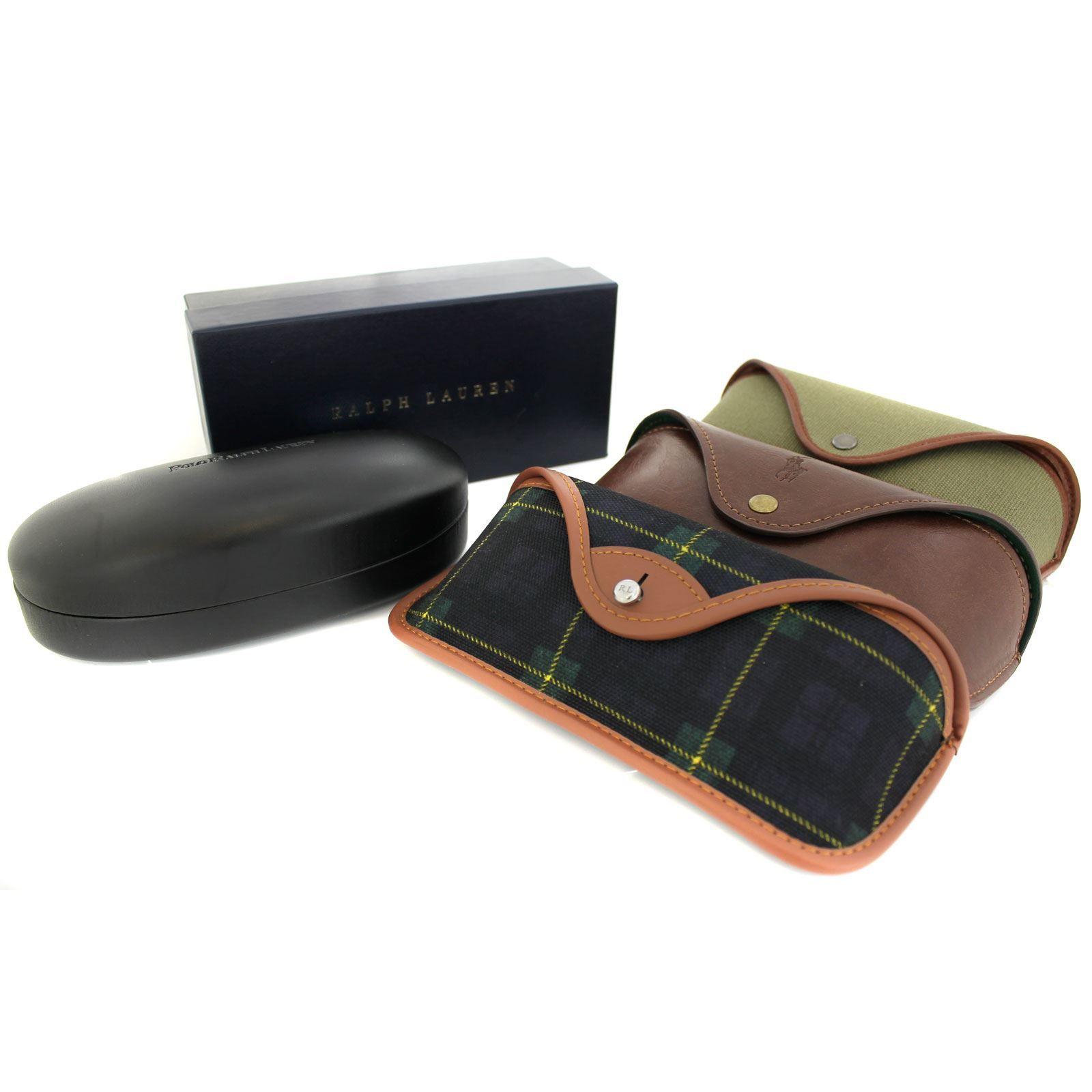 Polo Ralph Lauren Sunglasses PH4110 541380 Shiny Transparent Grey Dark Blue