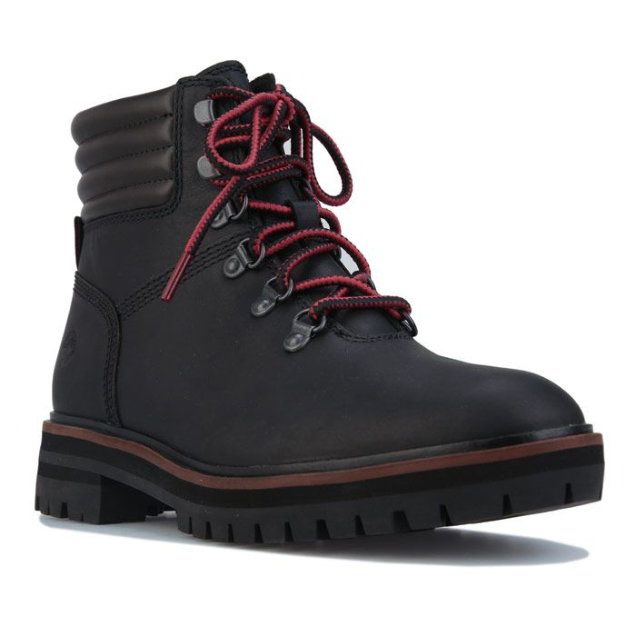 Women's Timberland London Square Hiker Boots in Black
