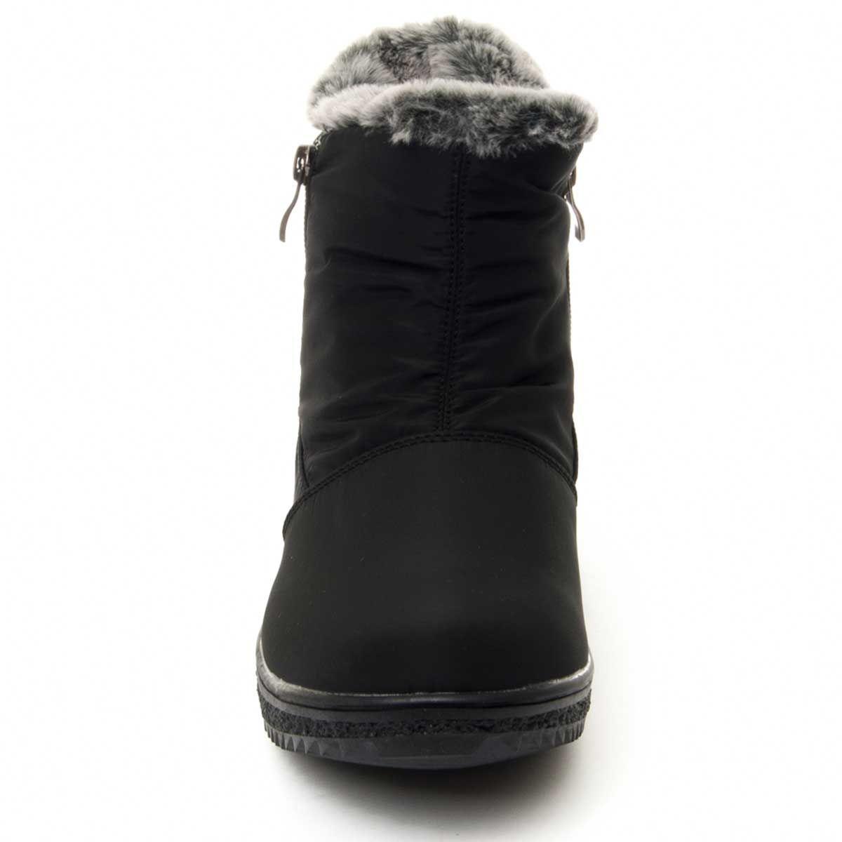 Montevita Winter Ankle Boot in Black