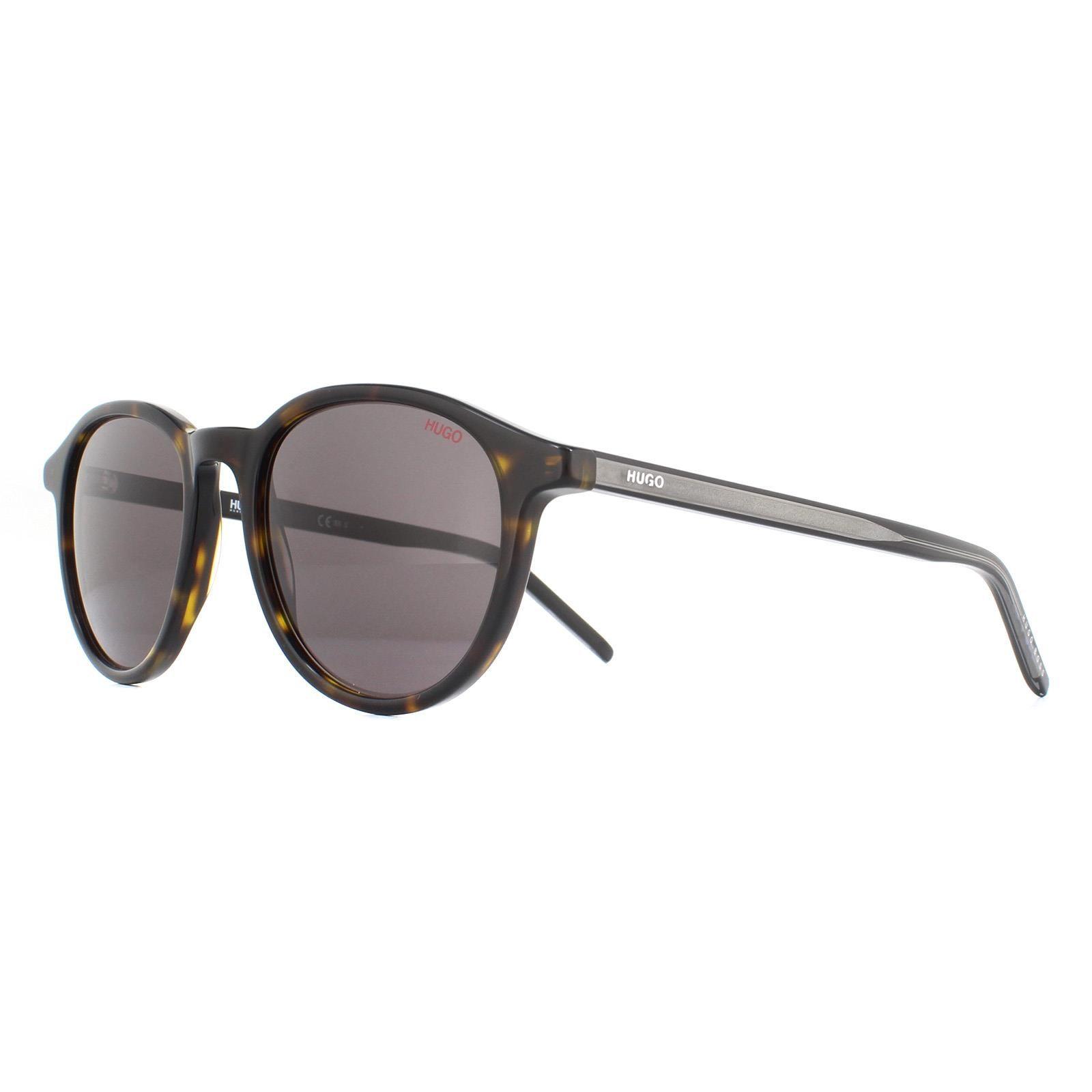 Hugo By Hugo Boss  Sunglasses HG 1028/S AB8 IR Havana Grey Grey