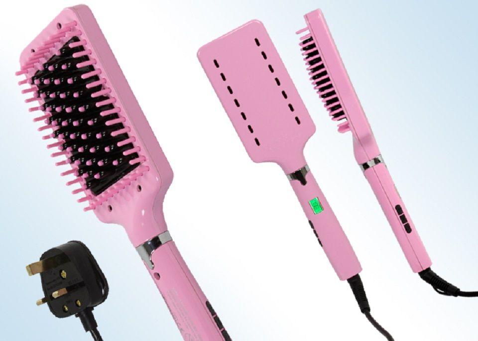 Hollywood Hair Straightener Brush