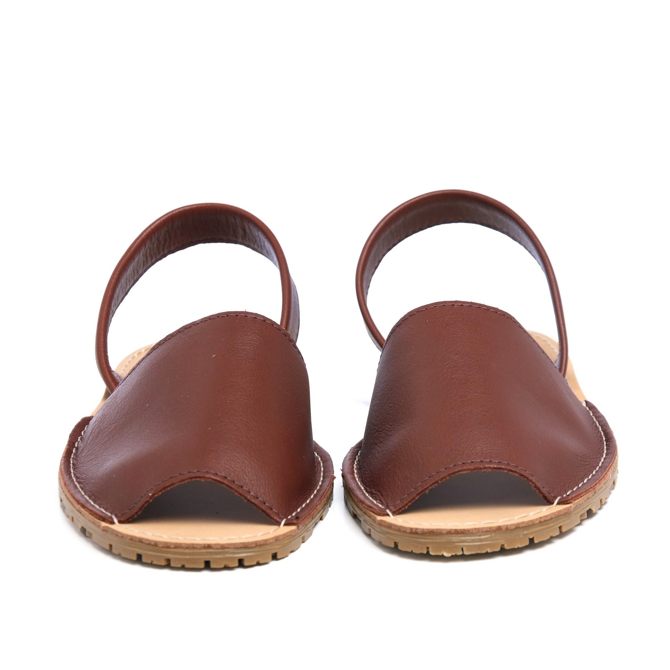 Classic leather sandal Menorquina for Women Leather Shoes Maria Barcelo