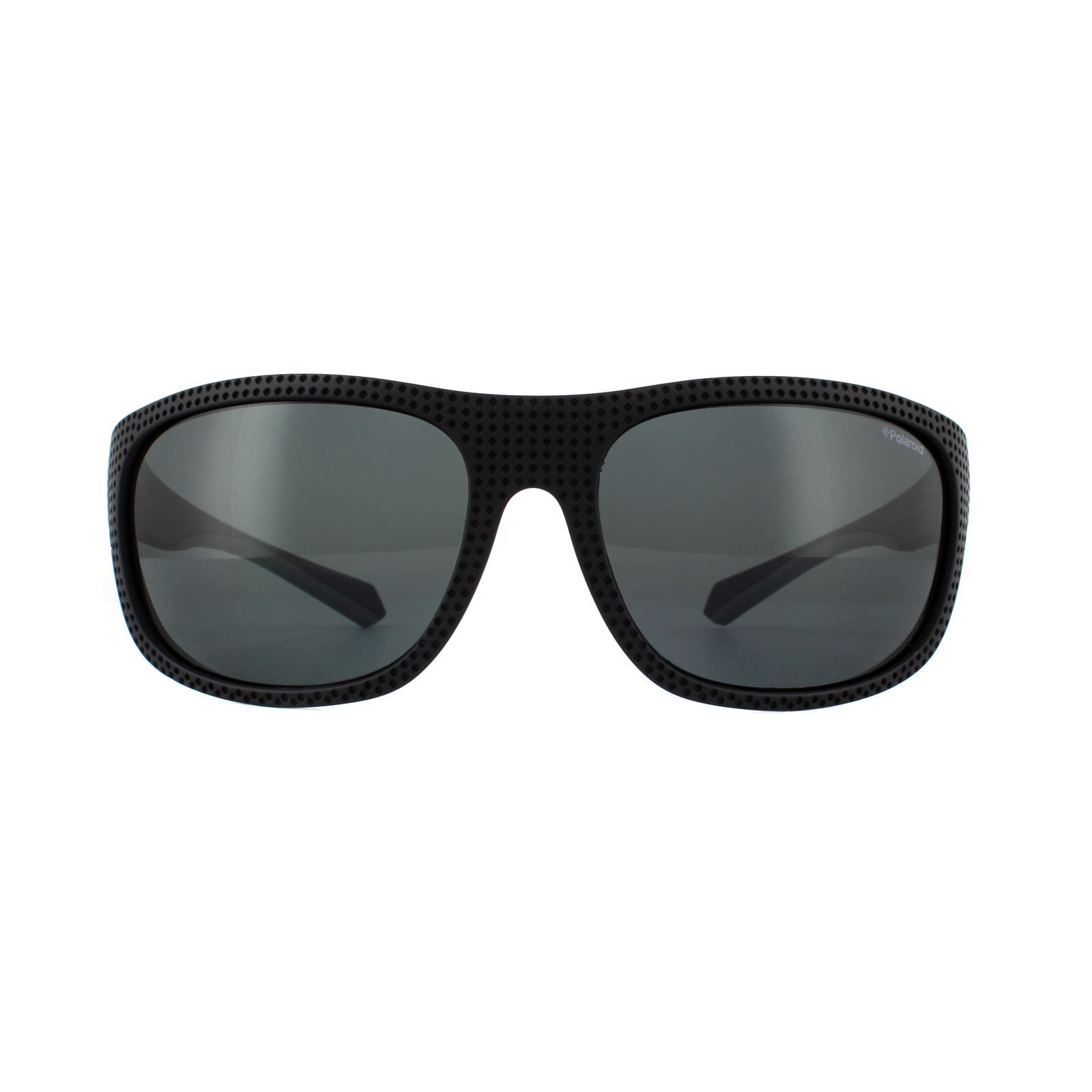 Polaroid Sport Sunglasses PLD 7022/S 807 M9 Black Grey Polarized