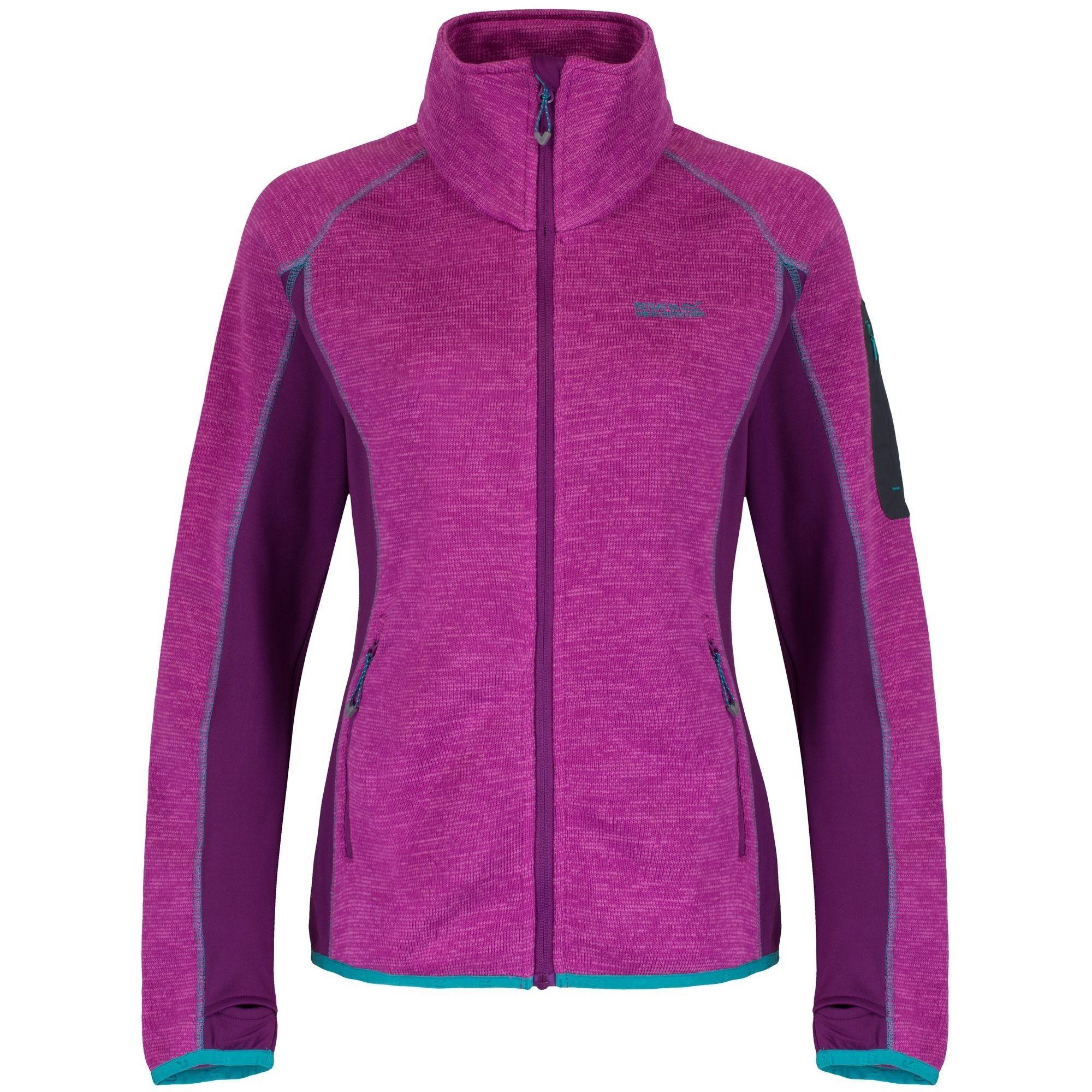 Regatta Great Outdoors Womens/Ladies Laney III Fleece Jacket (Vivid Viola/Winberry)